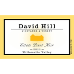 David Hill Willamette Valley Pinot Noir Estate 2019