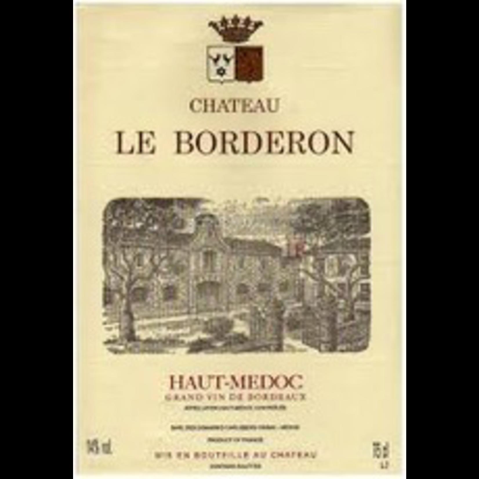 Wine Chateau Le Borderon 2015
