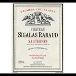 Chateau Sigalas Rabaud 2013 375ml