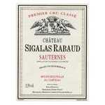 Wine Chateau Sigalas Rabaud 2013 375ml