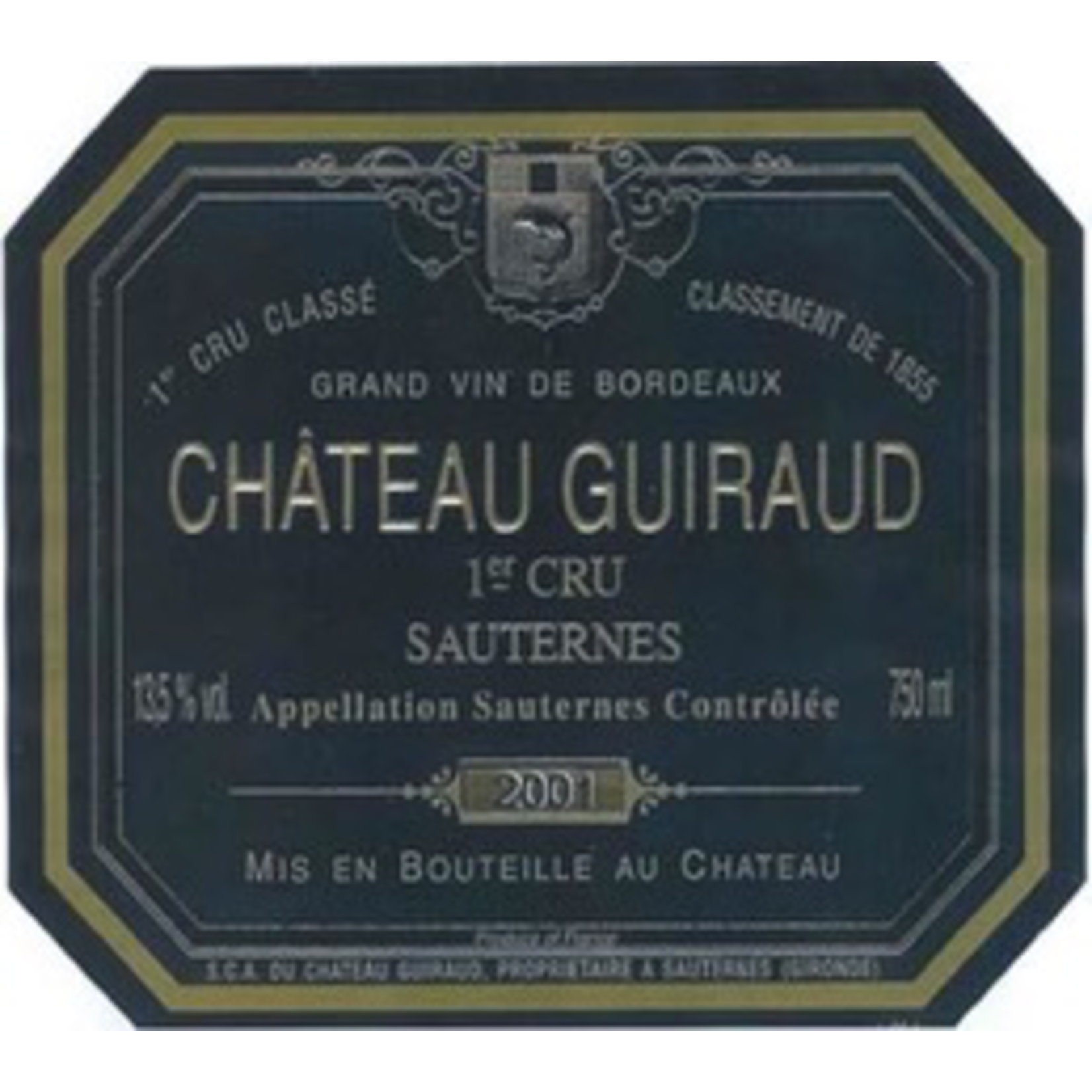 Wine Chateau Guiraud 1997 500ml