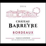 Wine Chateau Barreyre 2015 1.5L