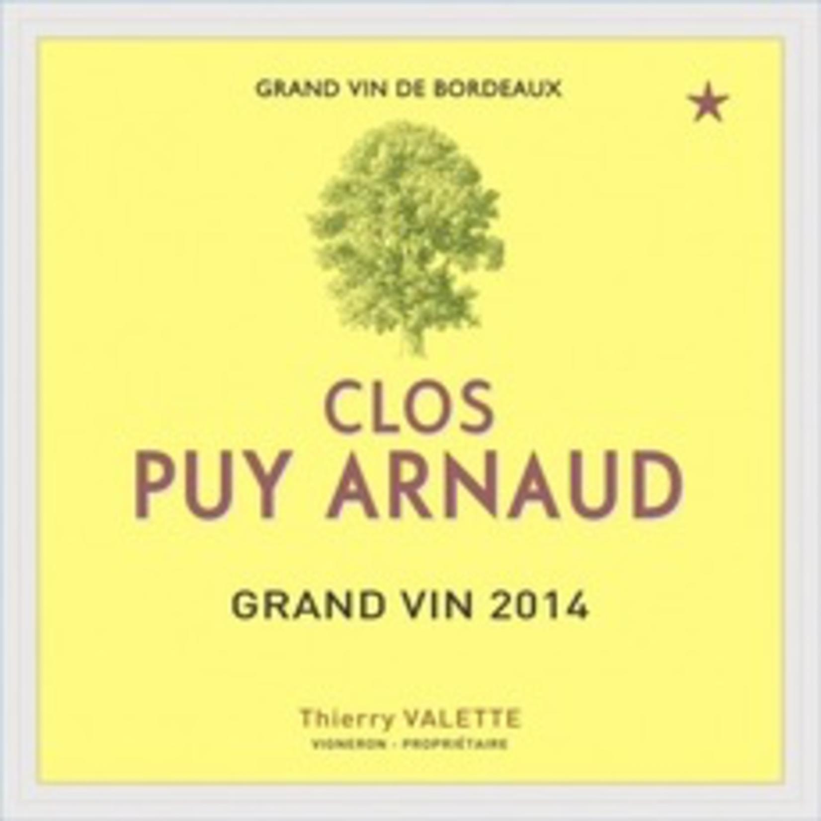 Wine Clos Puy Arnaud 2014