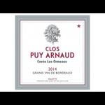Wine Clos Puy Arnaud, Les Ormeaux 2015