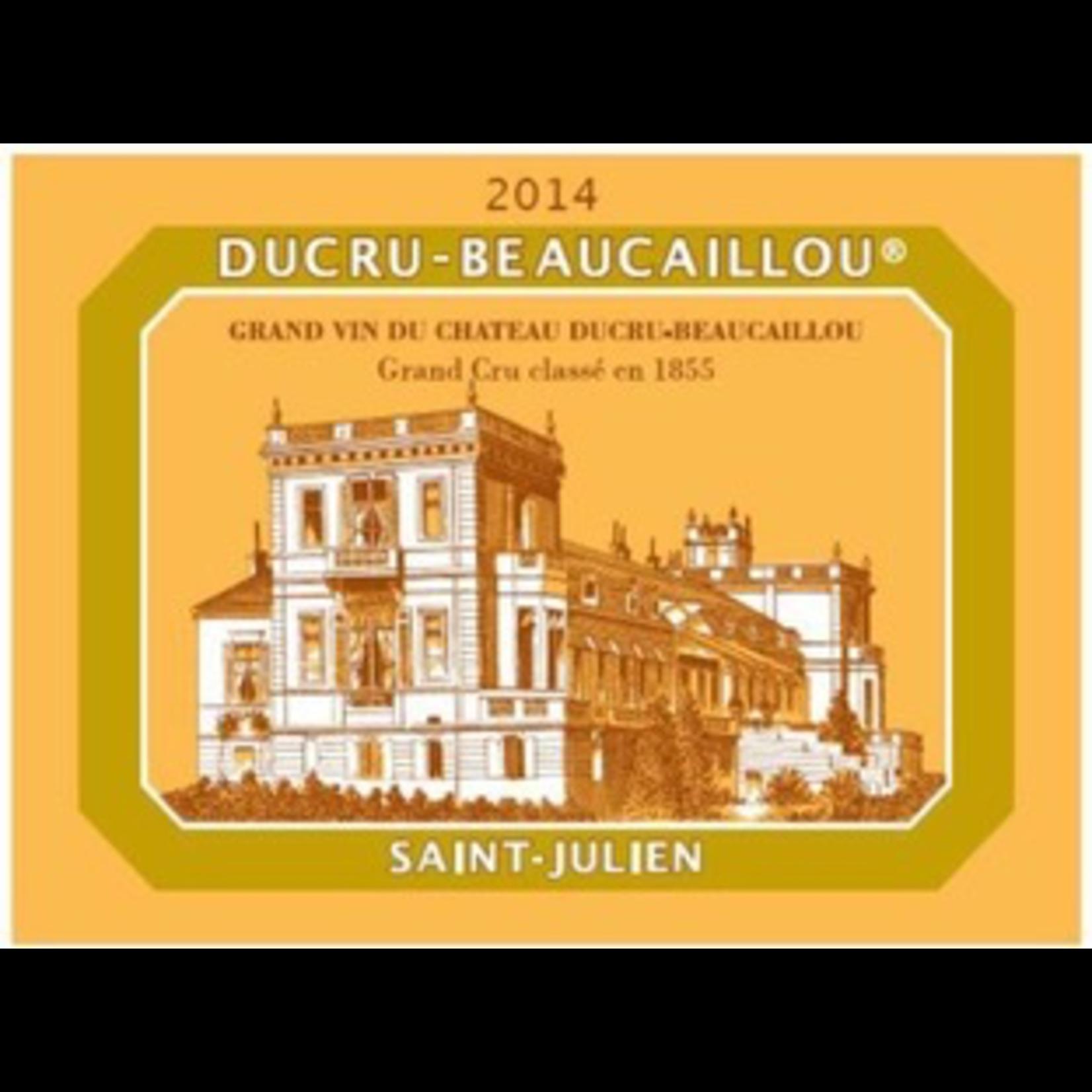 Wine Chateau Ducru Beaucaillou Saint Julien 2014
