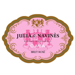 Julia & Navines Cava Brut Rose Methode Traditionnelle