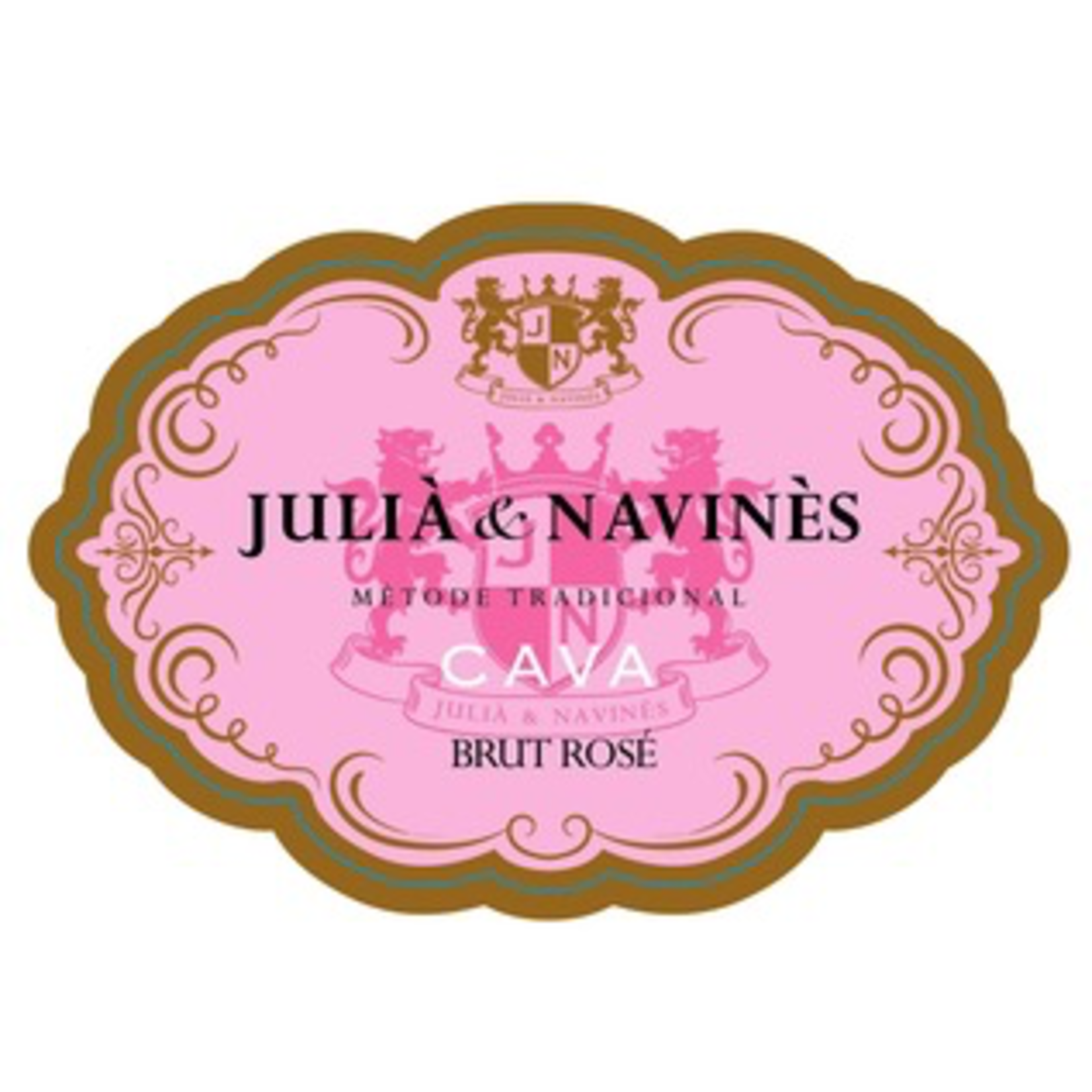 Julia & Navines Cava Brut Rose Methode Traditionnelle