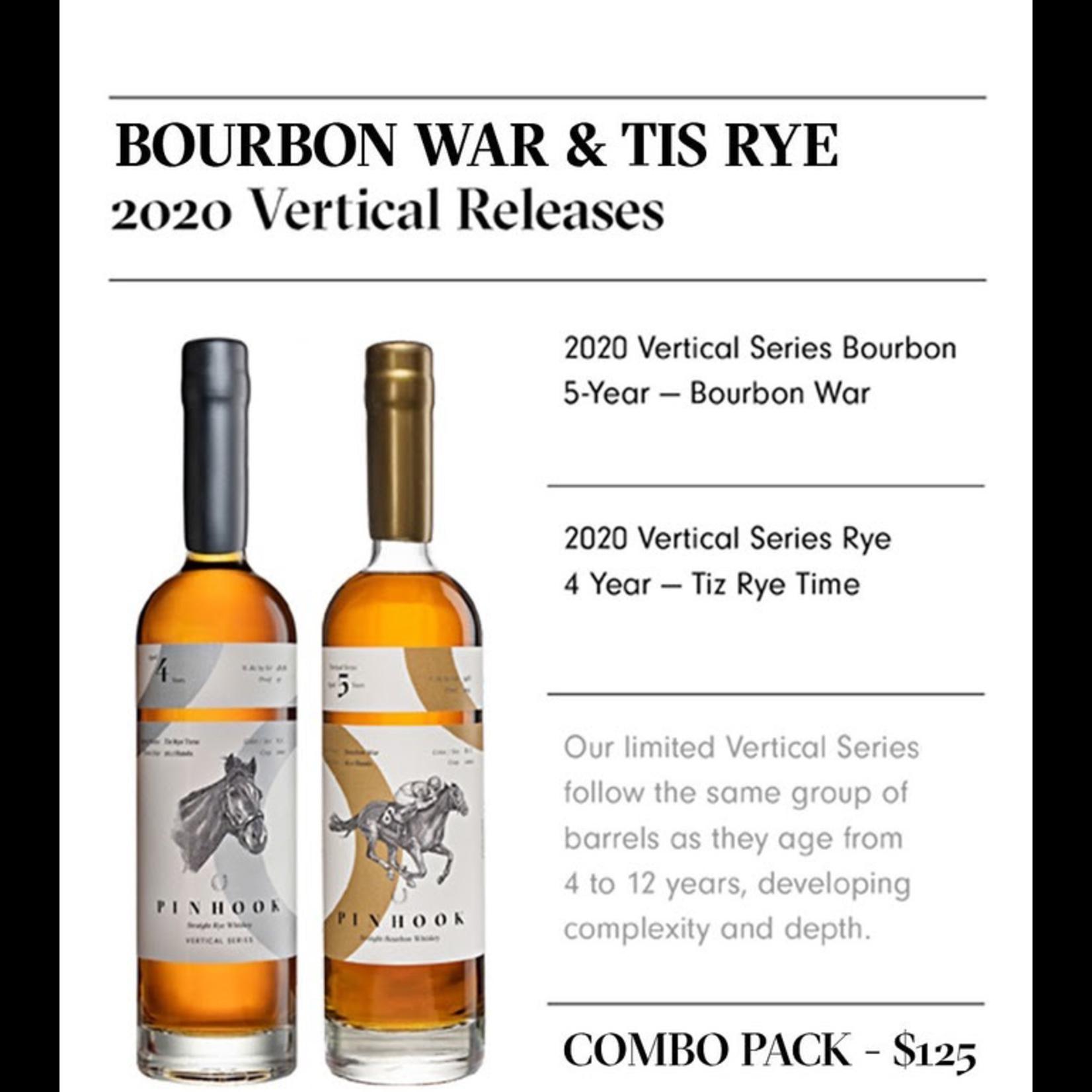 Spirits Pinhook Vertical Releases Bourbon War & Tis Rye Combo Pack