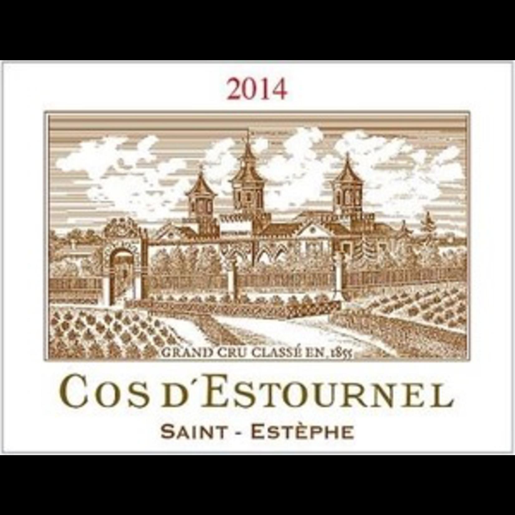 Wine Cos d'Estournel 2014