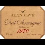 Spirits Jean Cave Vintage Armagnac 1970 OWC