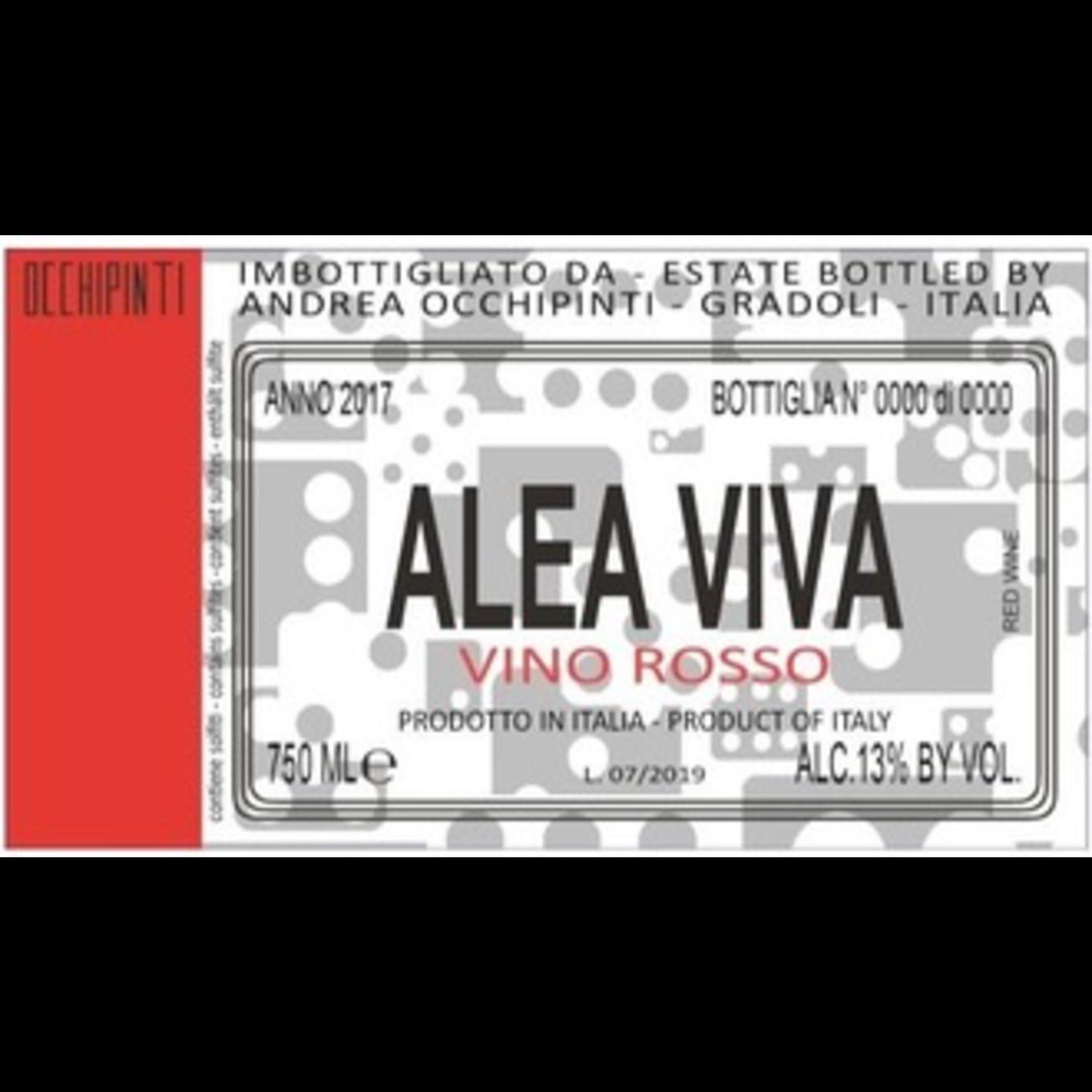 Wine Andrea Occhipinti Lazio Alea Viva Vino Rosso 2019