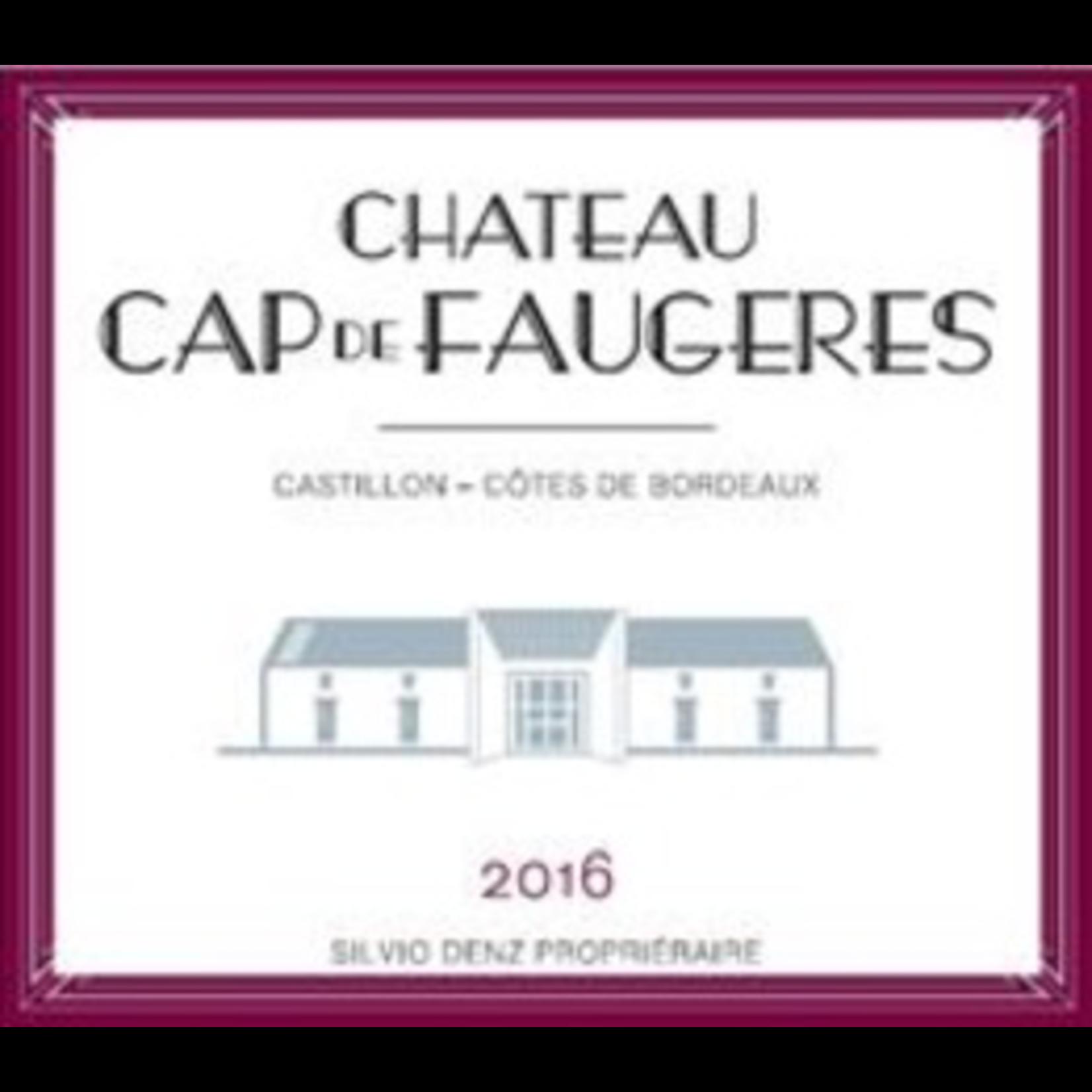 Wine Chateau Cap de Faugeres 2018