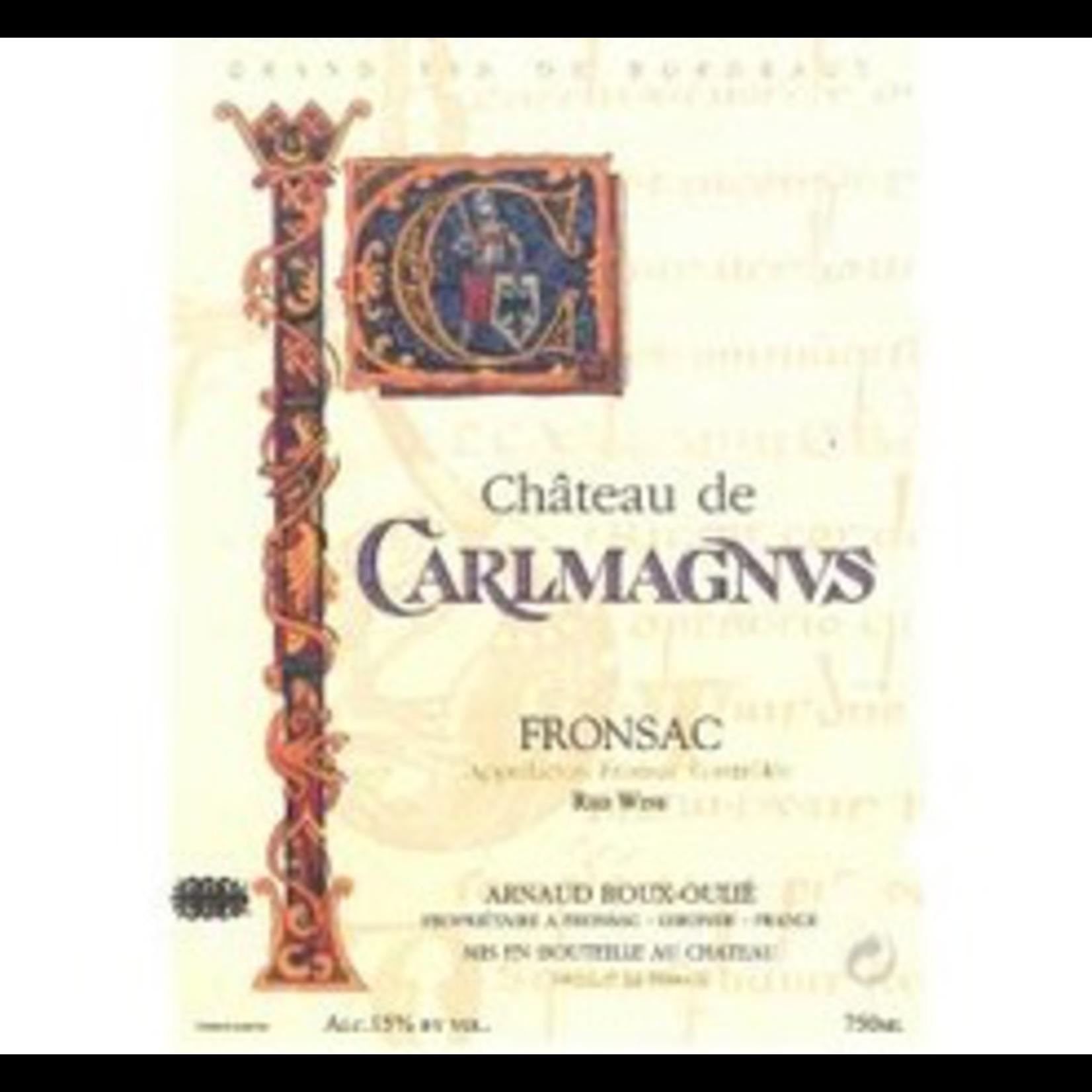 Wine Chateau de Carlmagnus 2018