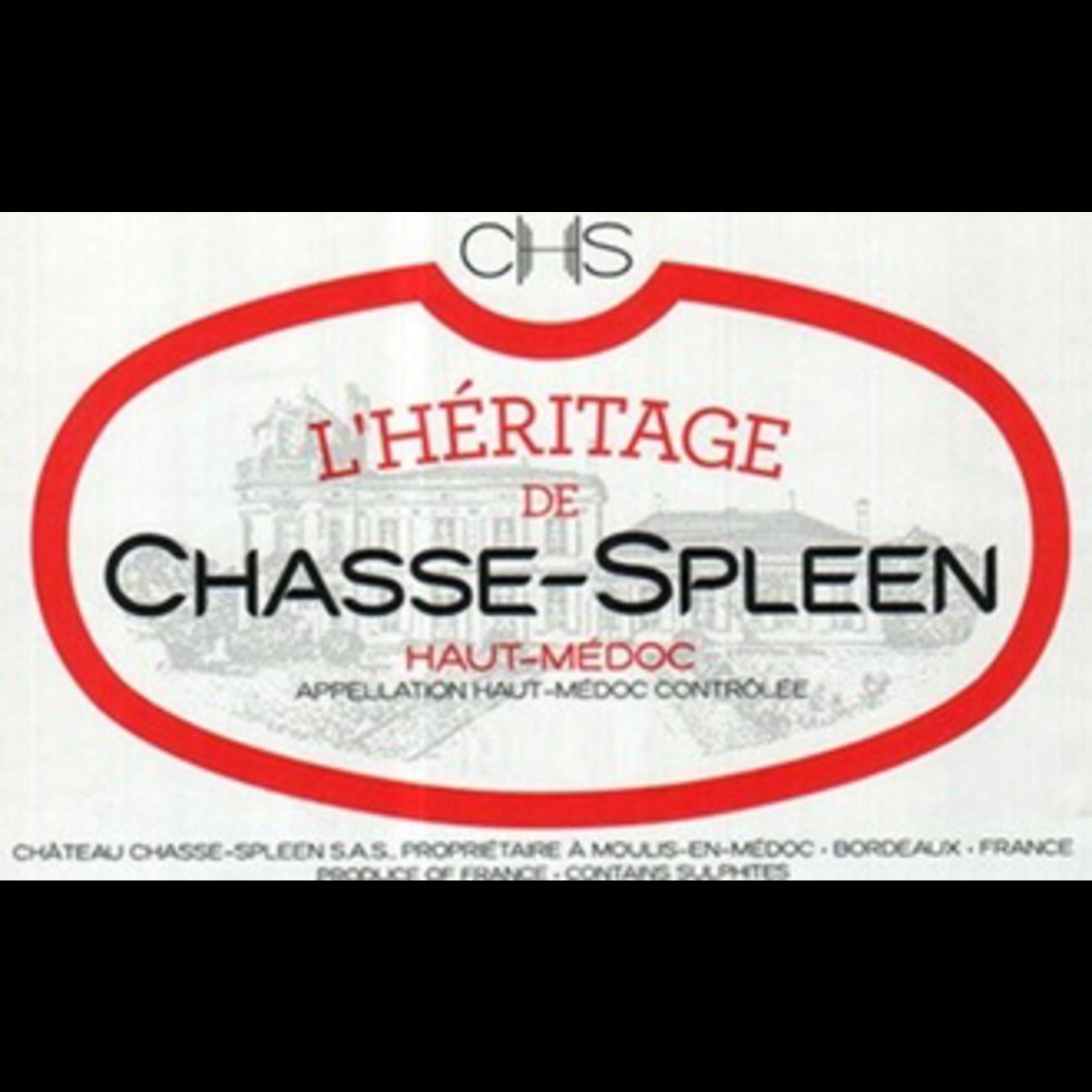 L'Heritage de Chasse Spleen 2018