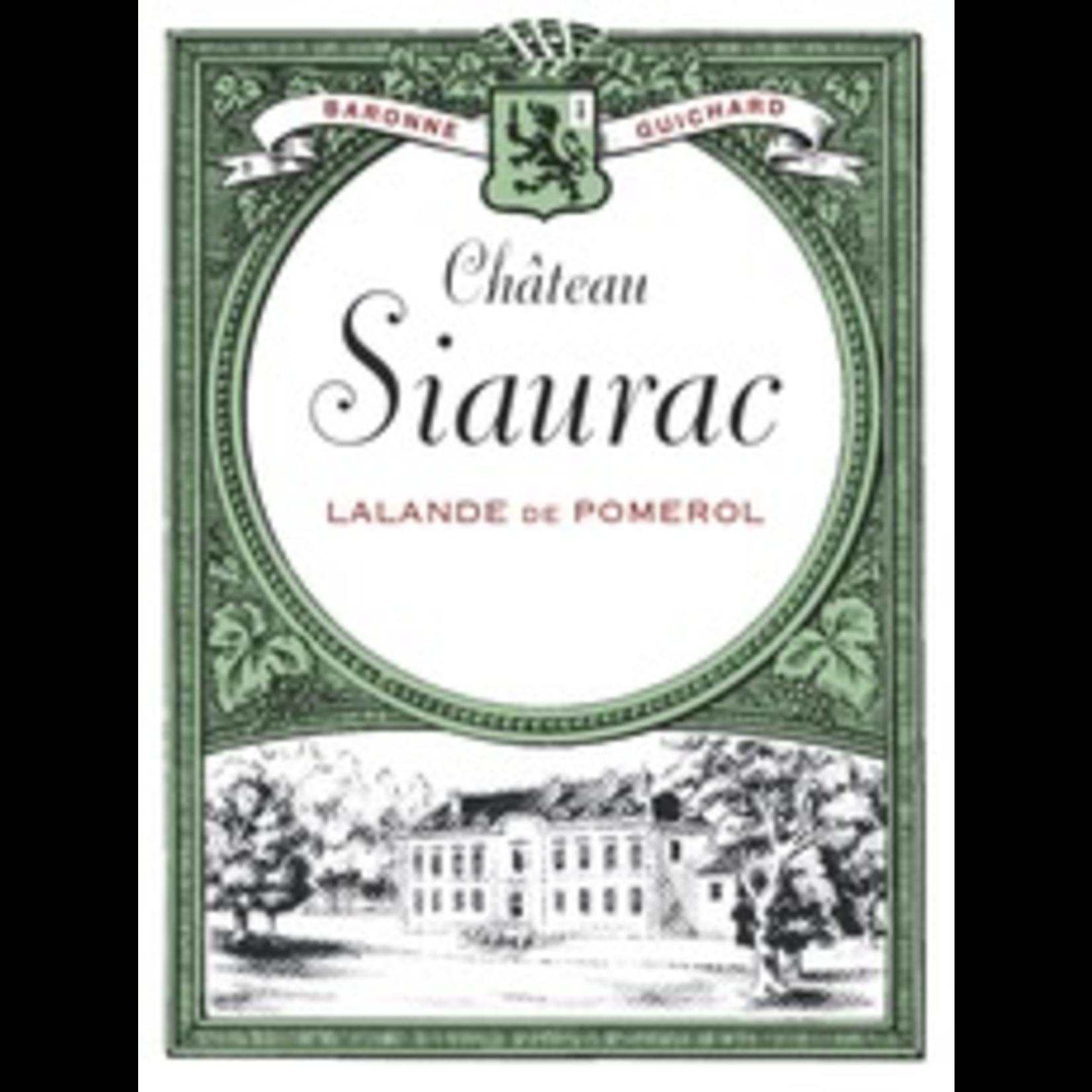Wine Ch Siaurac 2018