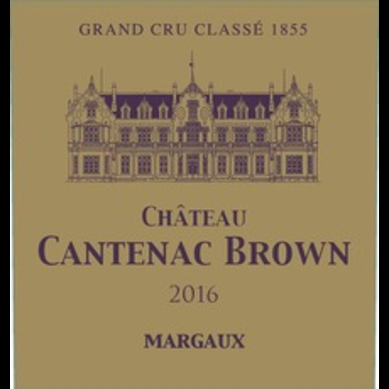 Ch Cantenac Brown 2018