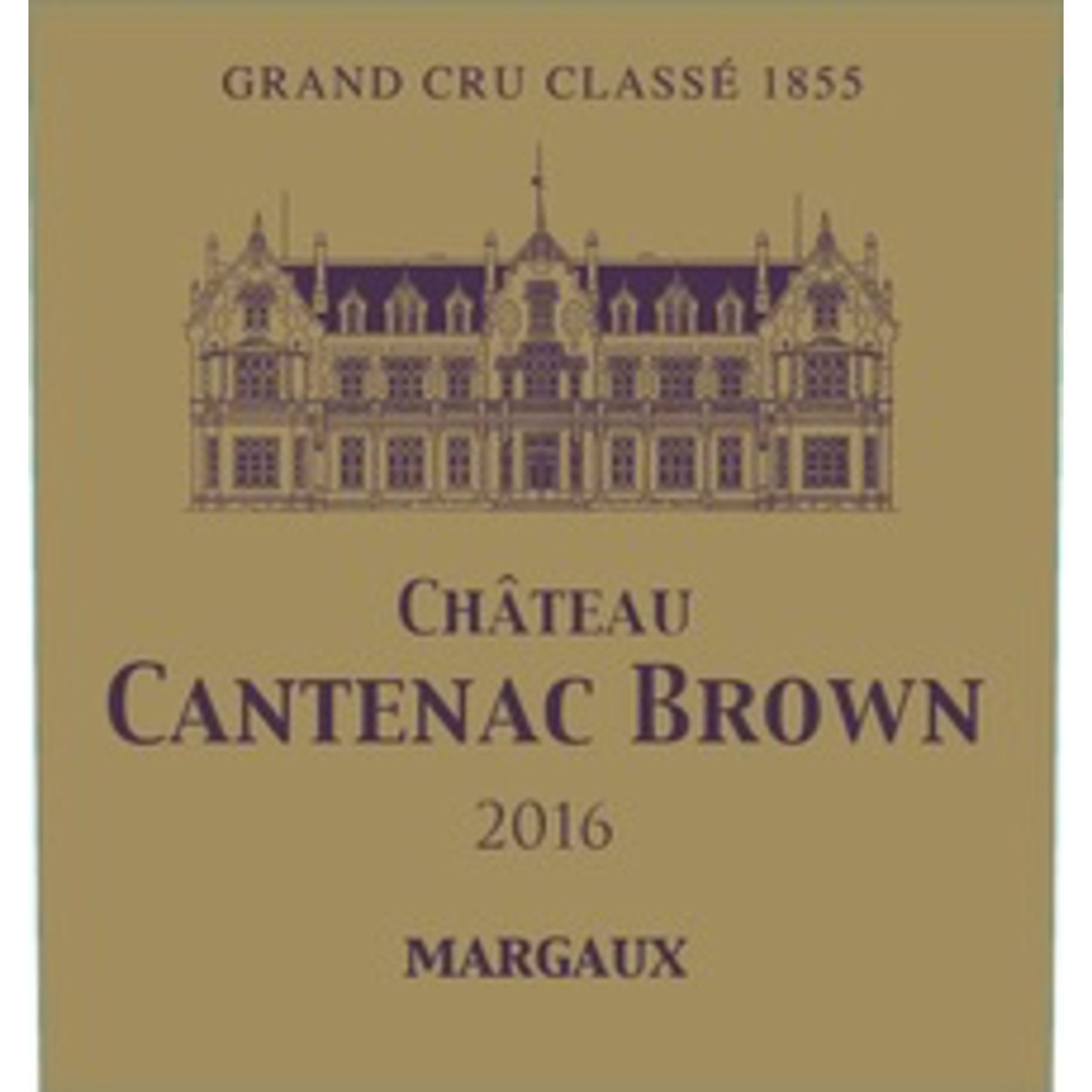 Wine Ch Cantenac Brown 2018