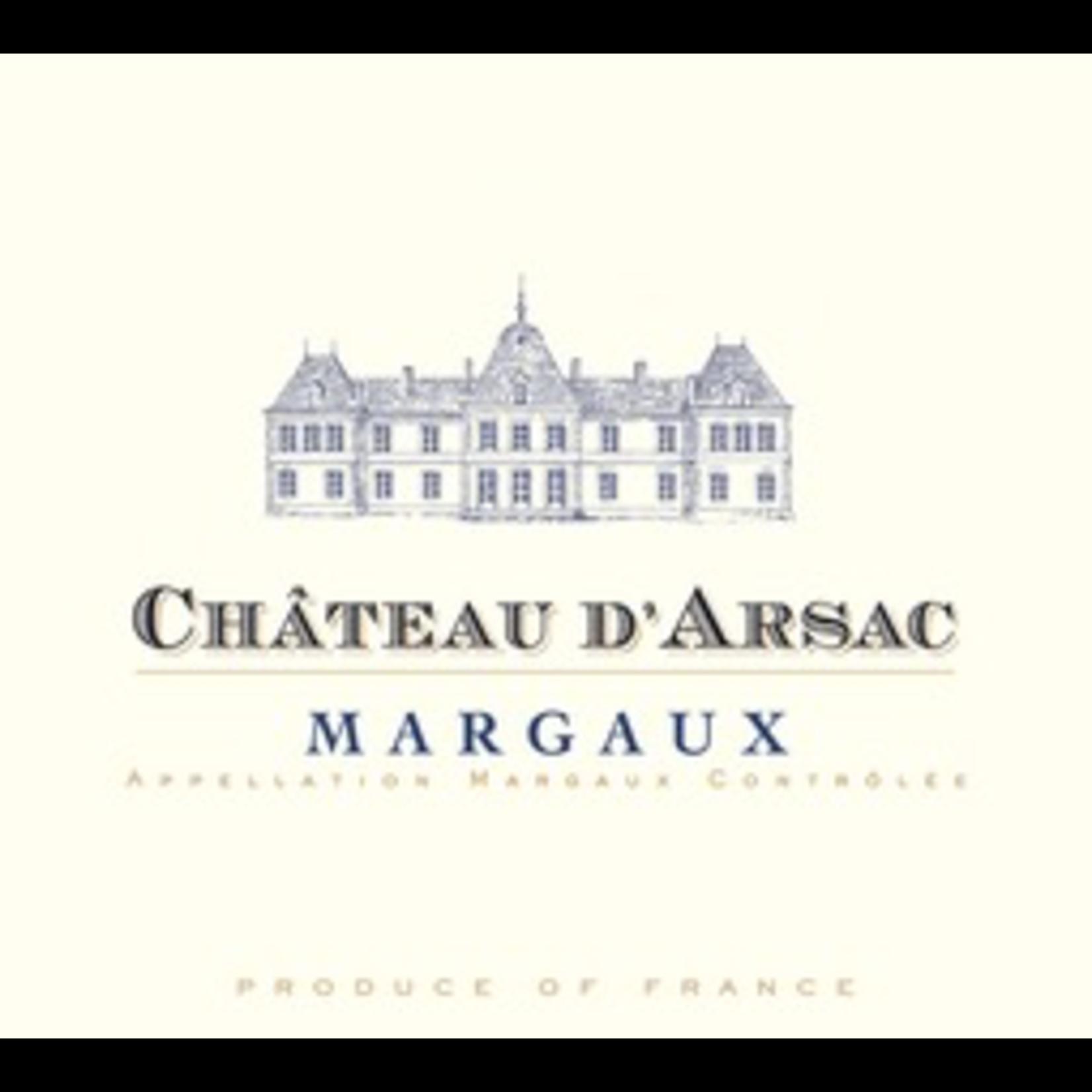 Wine Chateau D'Arsac 2018