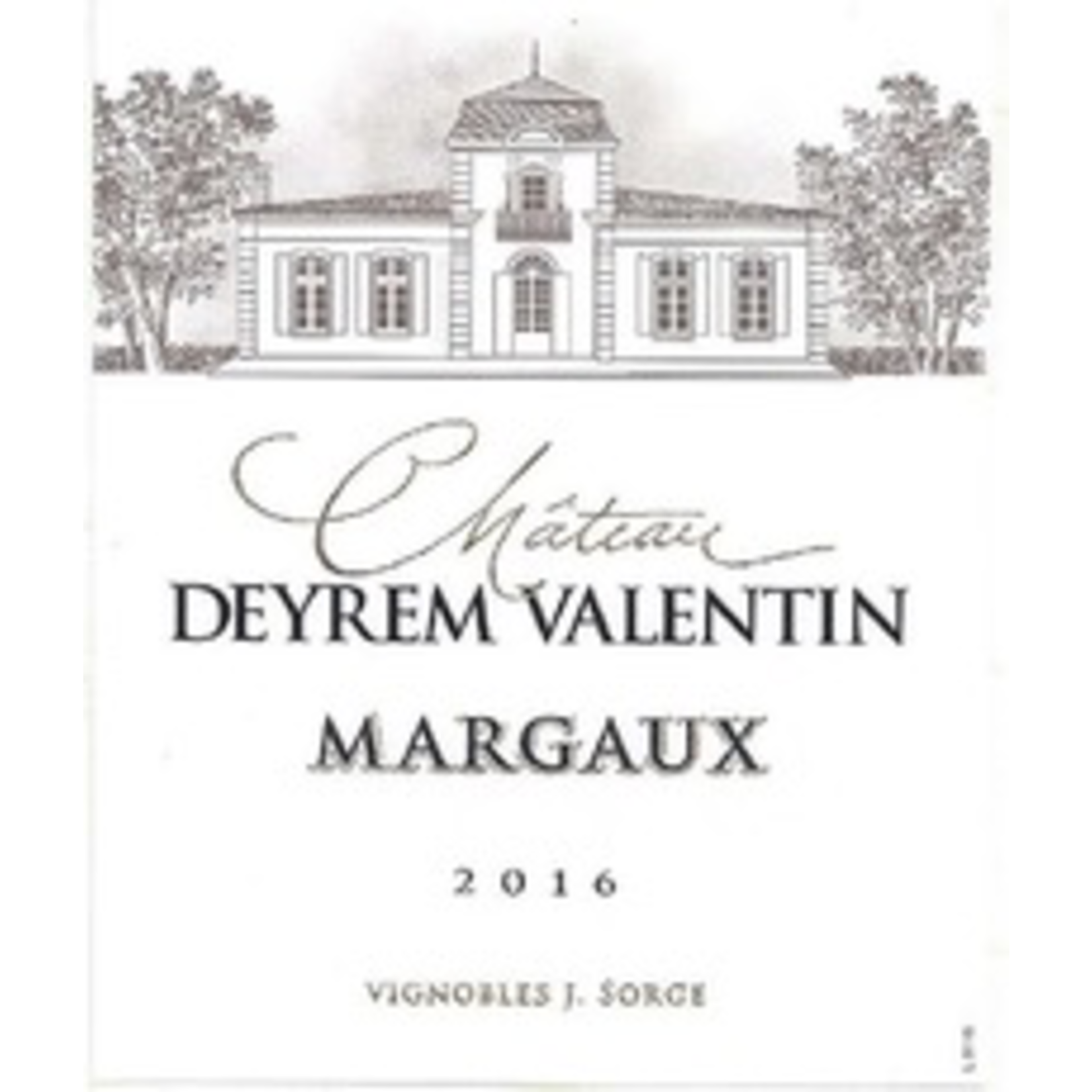 Wine Ch Deyrem Valentin 2018