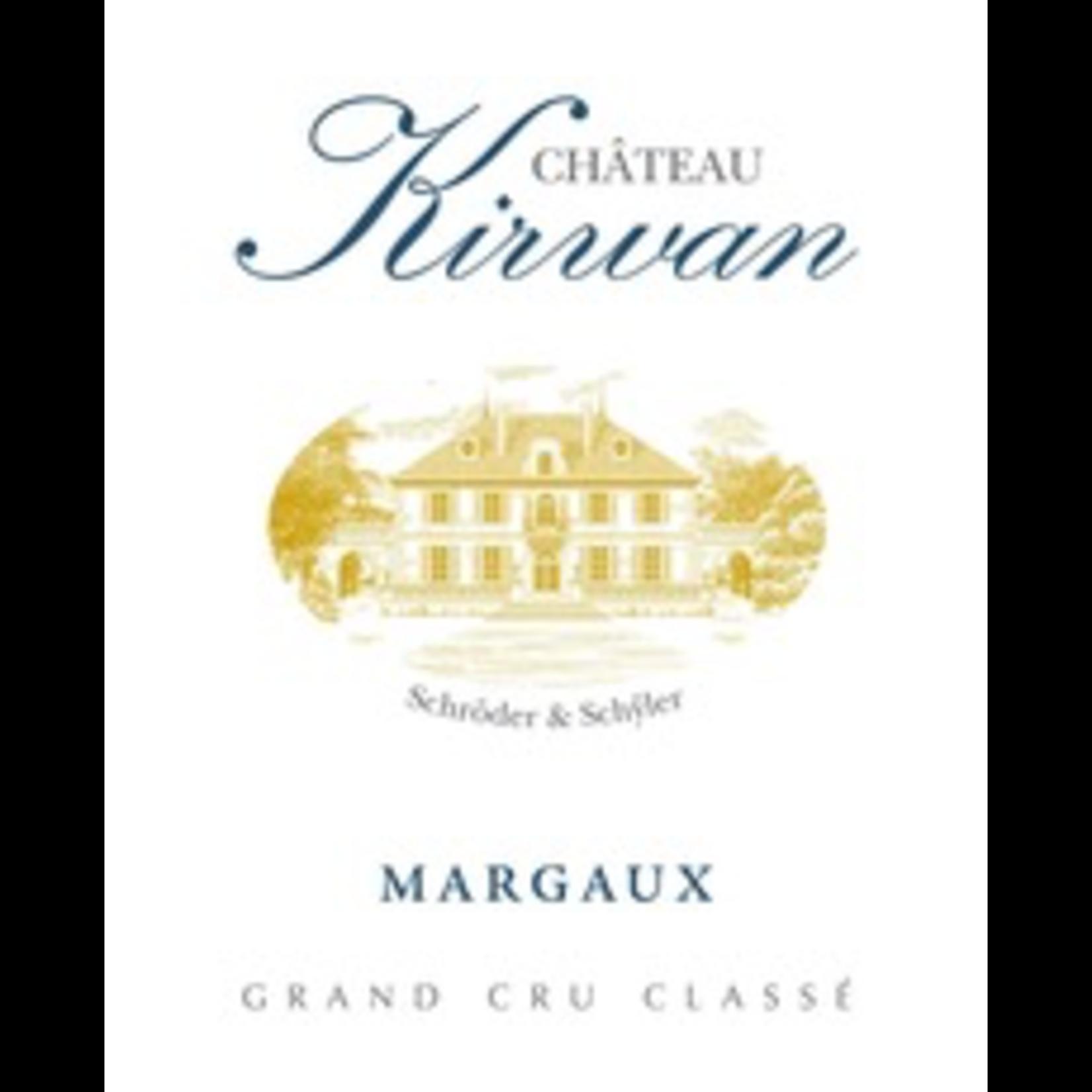 Wine Chateau Kirwan 2018