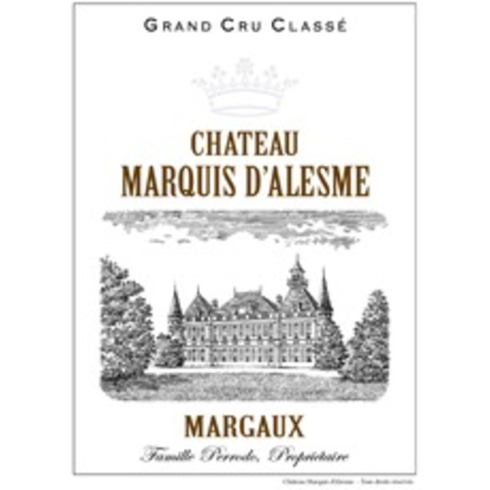 Wine Ch Marquis d'Alesme Becker 2018