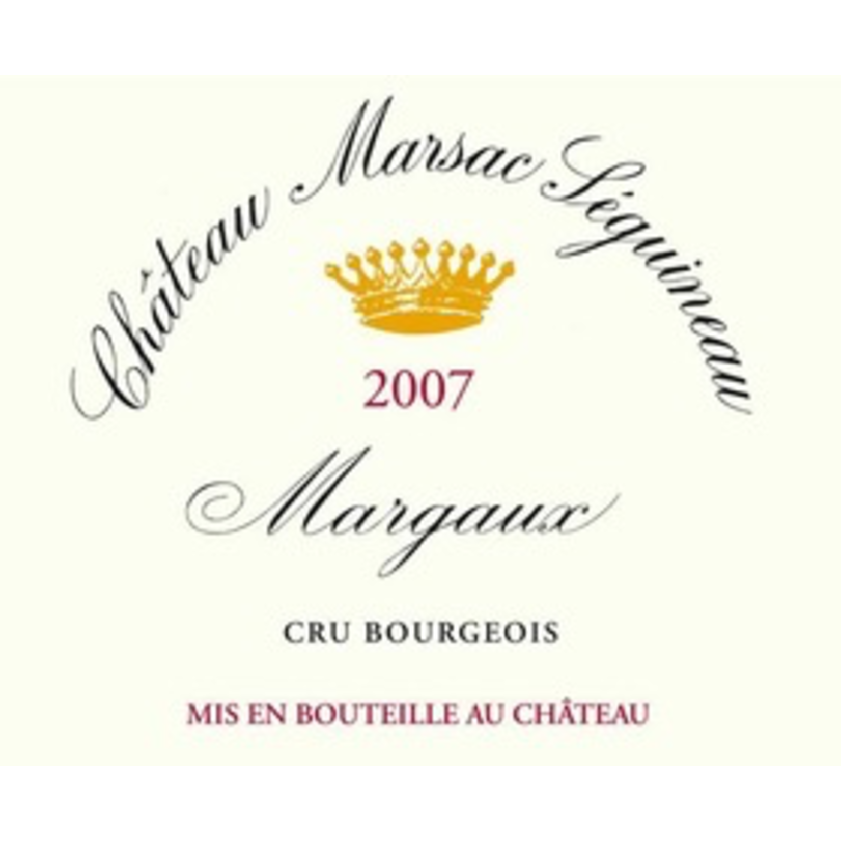 Wine Ch Marsac Seguineau 2018