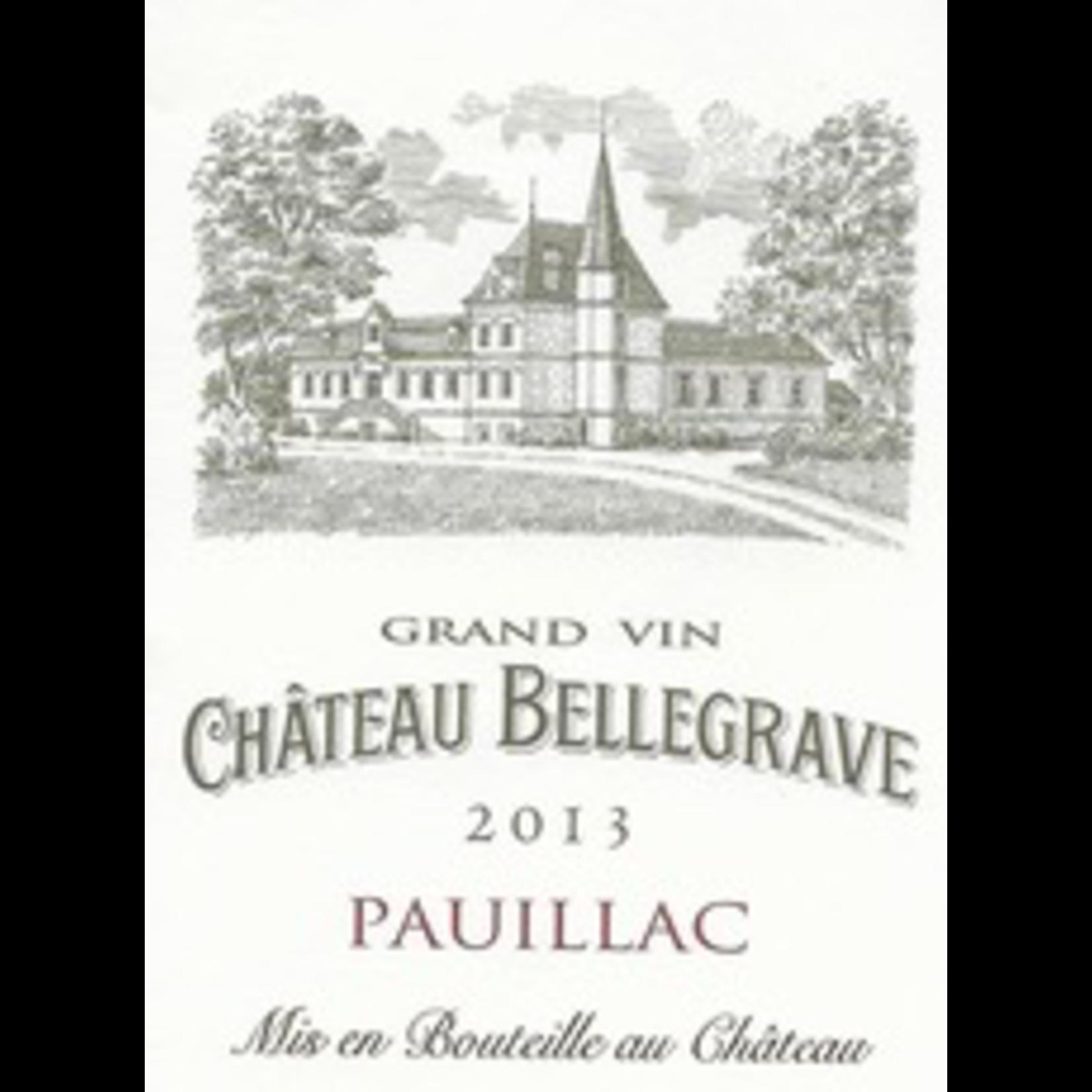 Wine Ch Bellegrave 2018