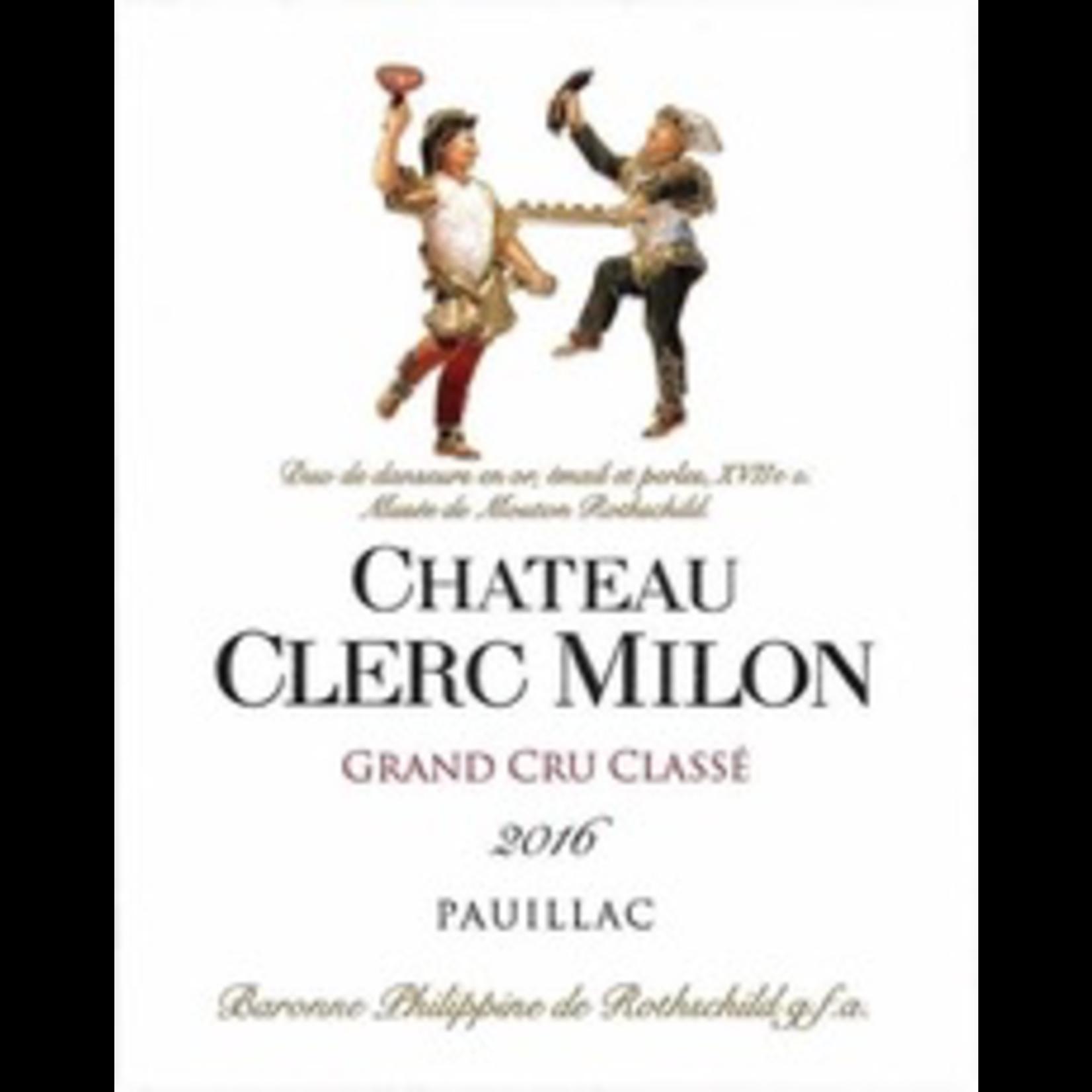 Wine Ch Clerc Milon 2018