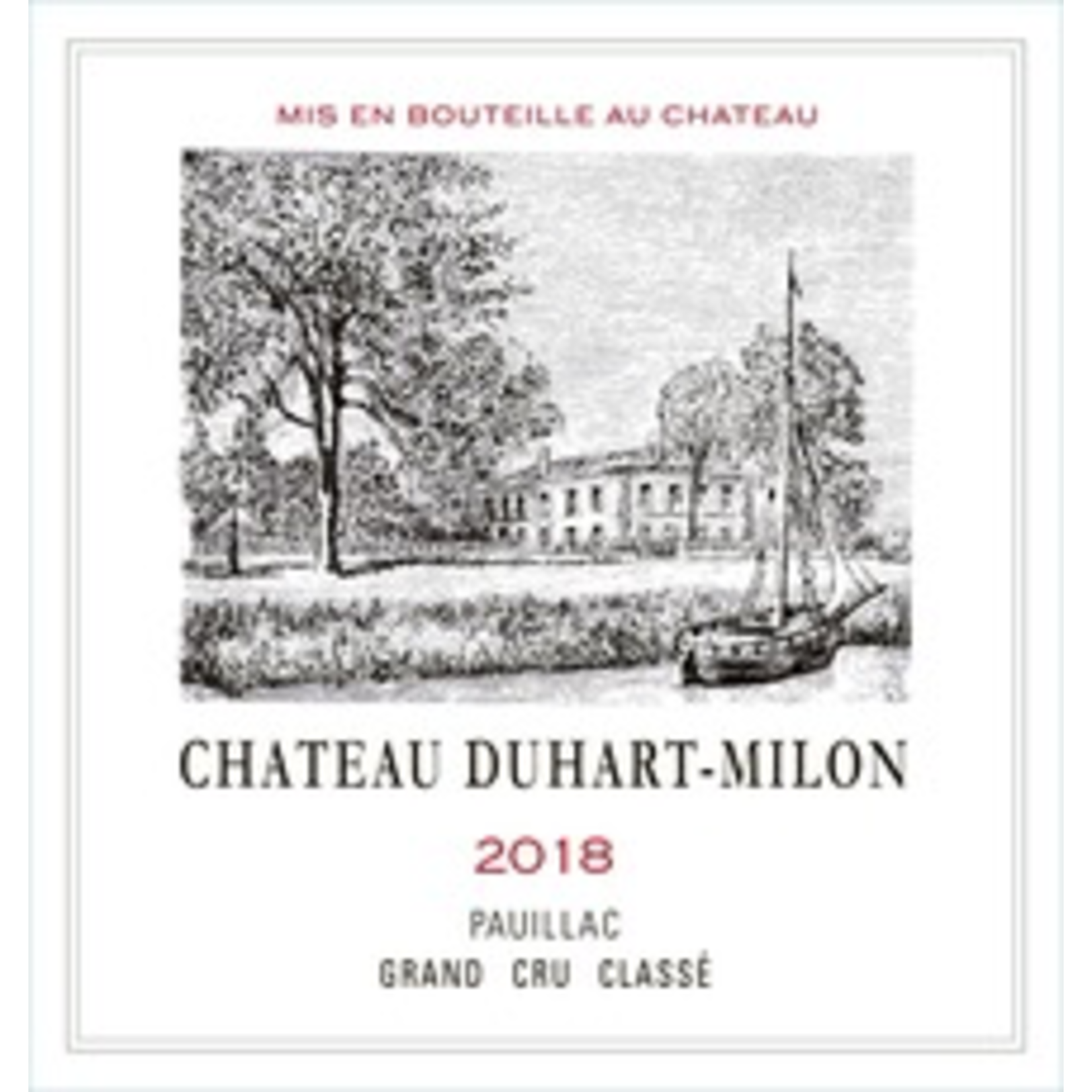 Ch Duhart Milon 2018