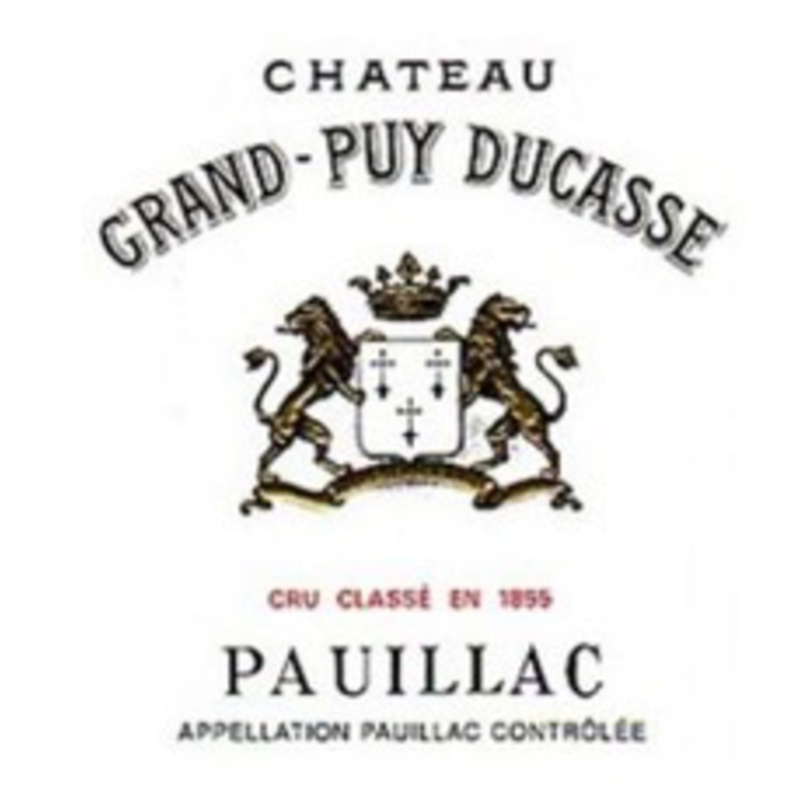 Wine Chateau Grand Puy Ducasse 2018