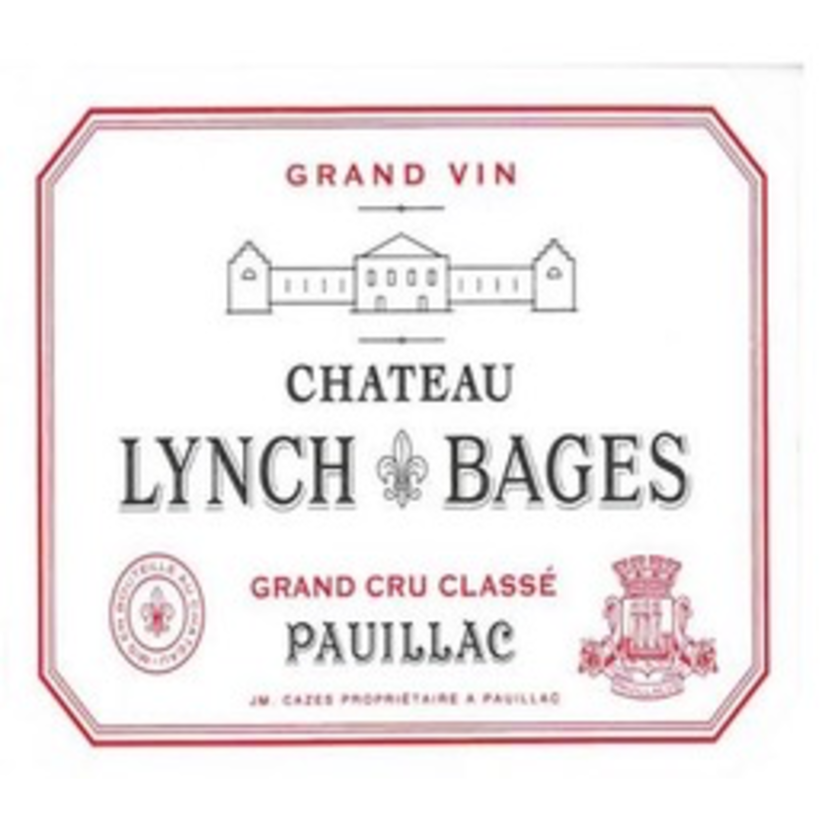 Wine Ch Lynch Bages 2018