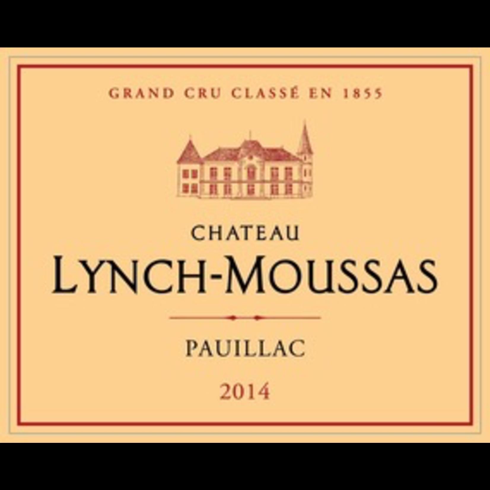Wine Chateau Lynch Moussas 2018