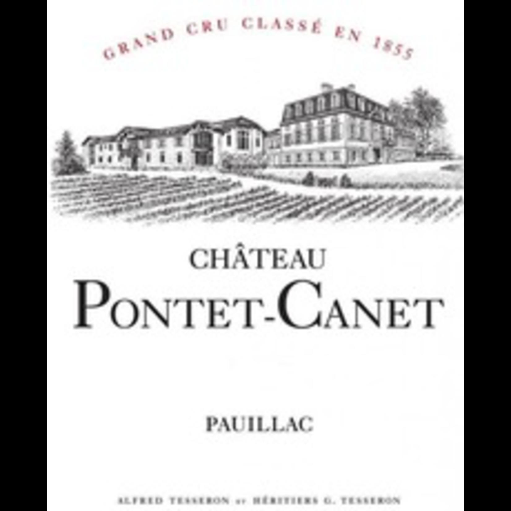 Wine Ch Pontet Canet 2018