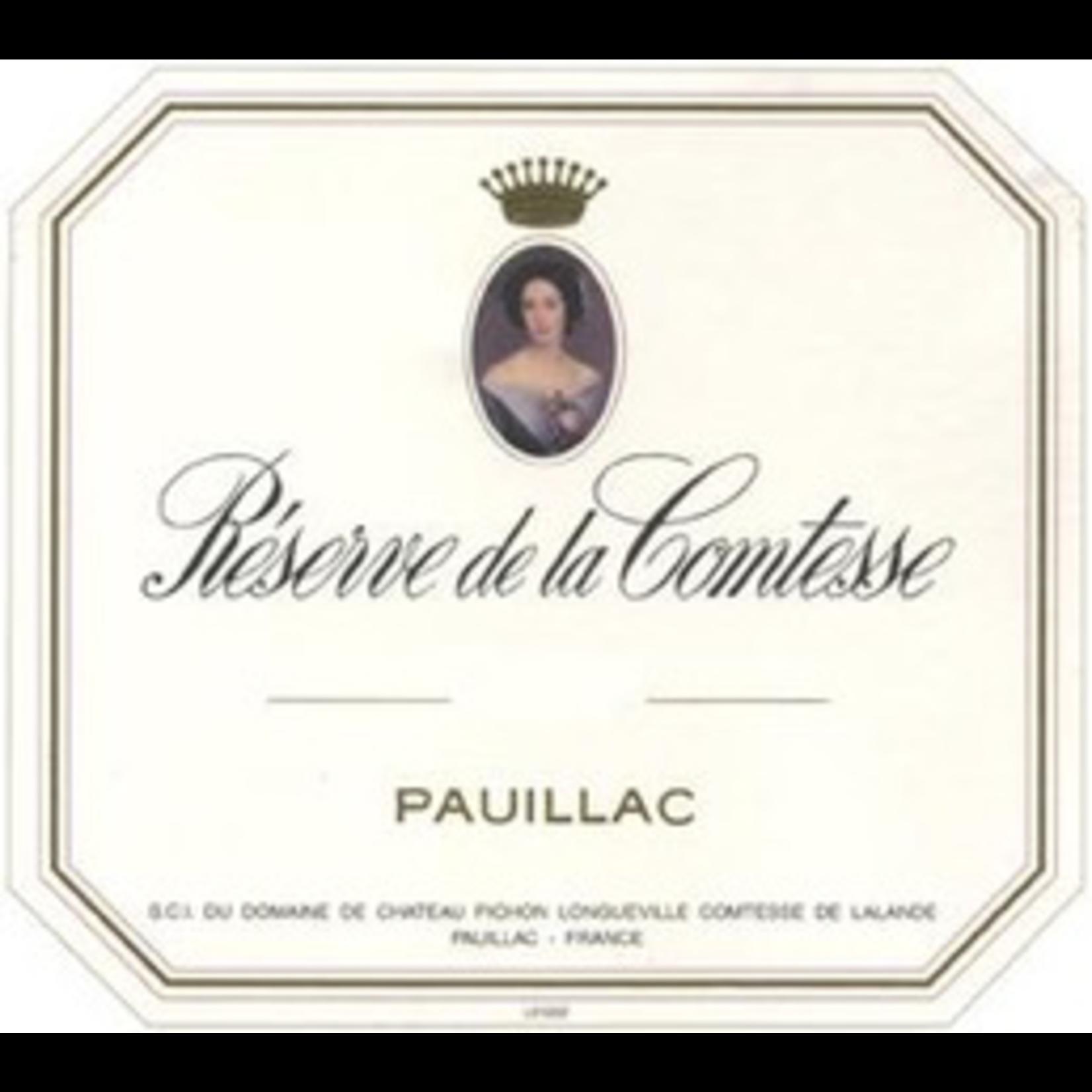 Wine Reserve de la Comtesse Pauillac 2018