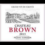 Wine Ch Brown Pessac Leognan 2018
