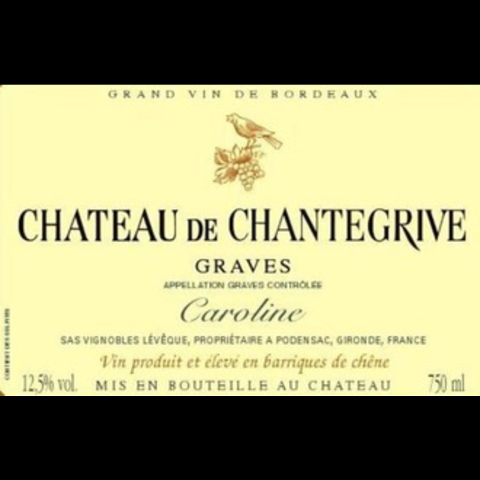 Wine Chateau Chantegrive Graves Caroline 2018