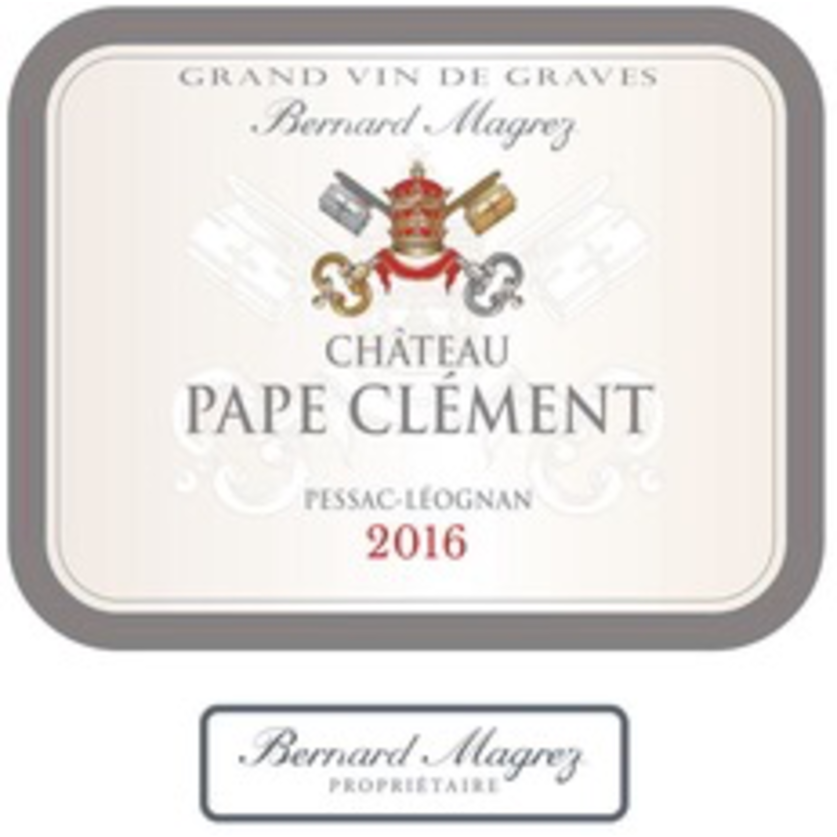 Wine Chateau Pape Clement Rouge 2018