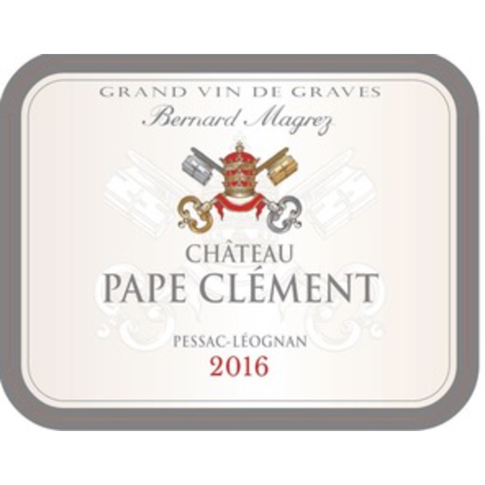 Wine Ch Pape Clement Blanc 2018