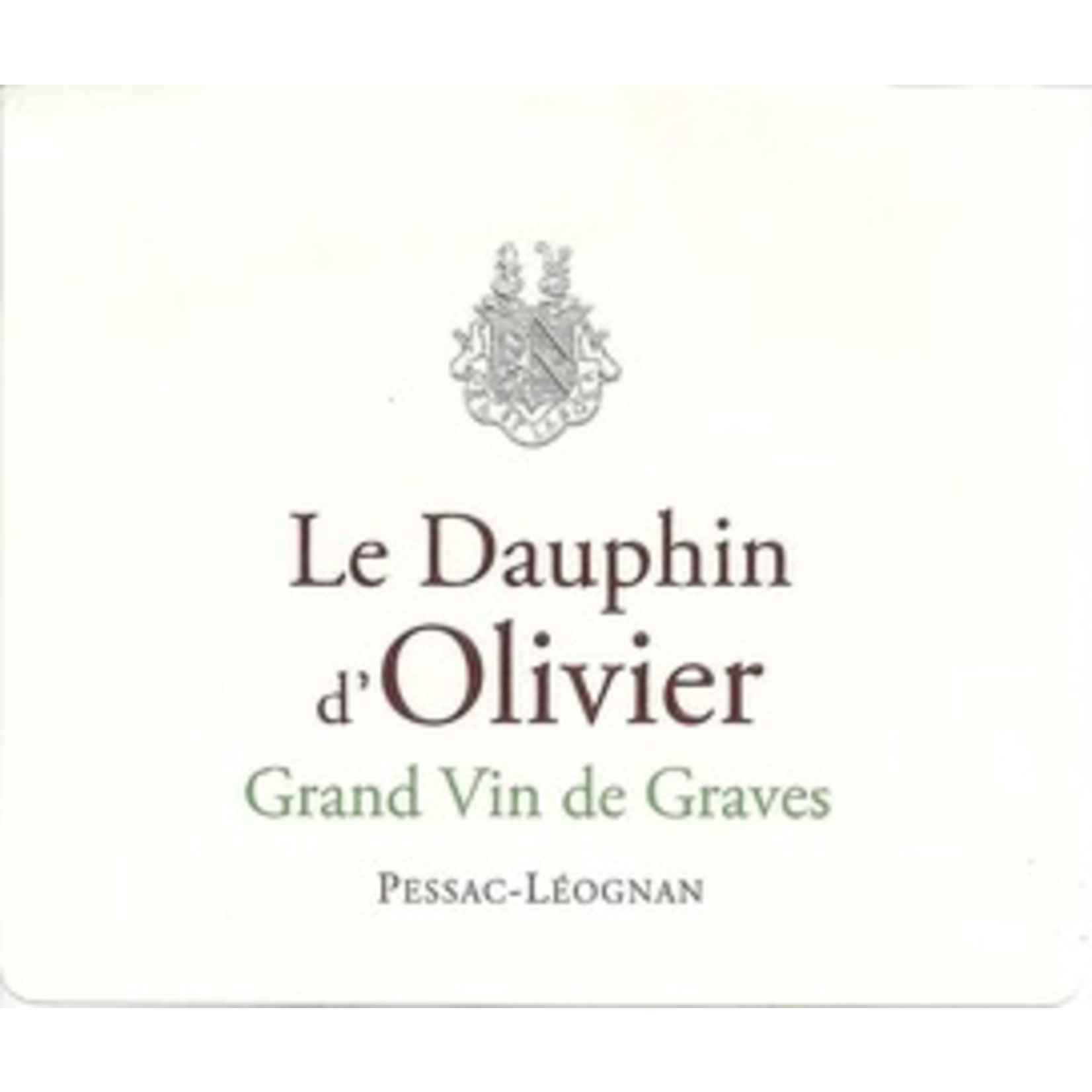 Wine Le Dauphin d'Olivier 2018