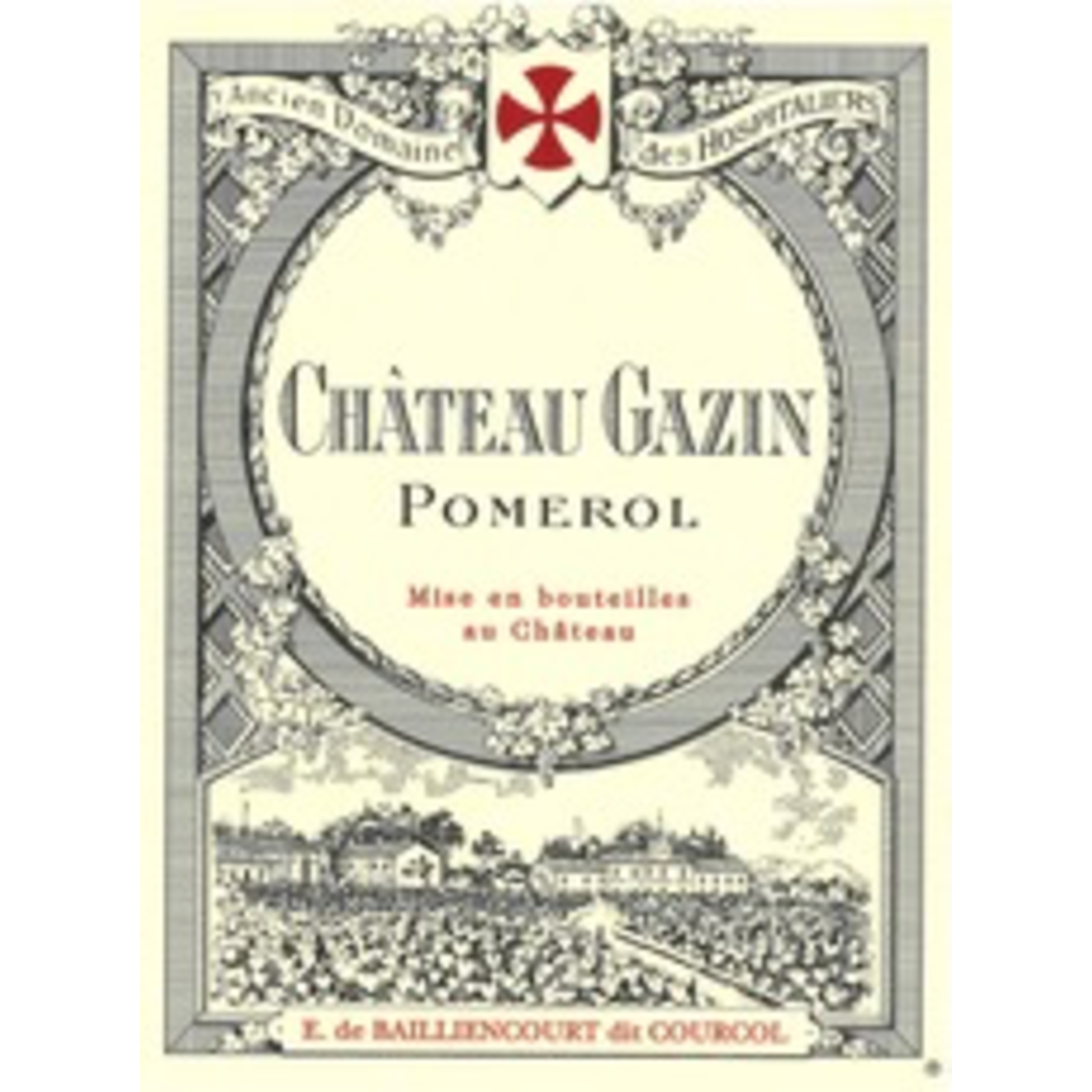 Ch Gazin Pomerol 2018