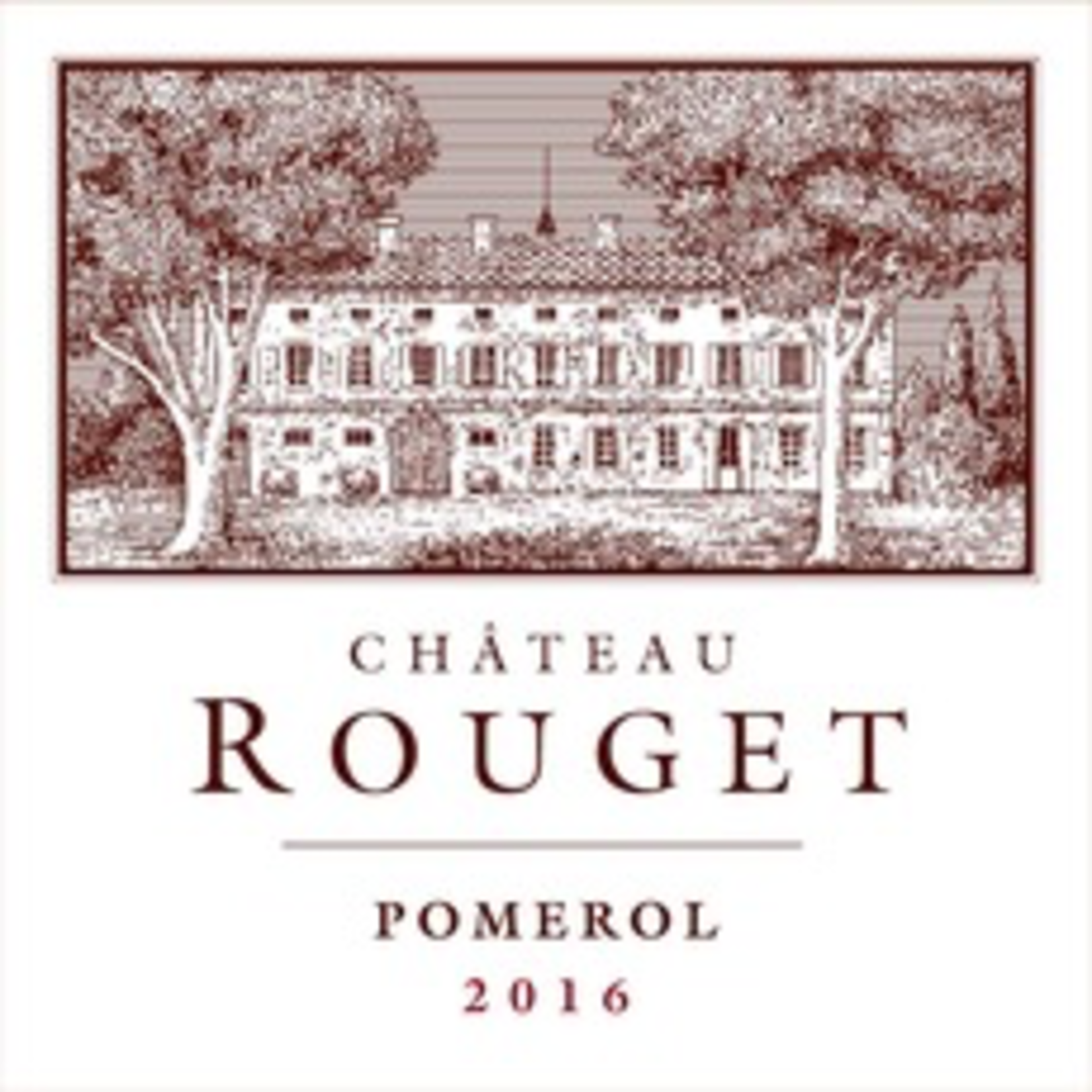 Wine Ch Rouget 2018