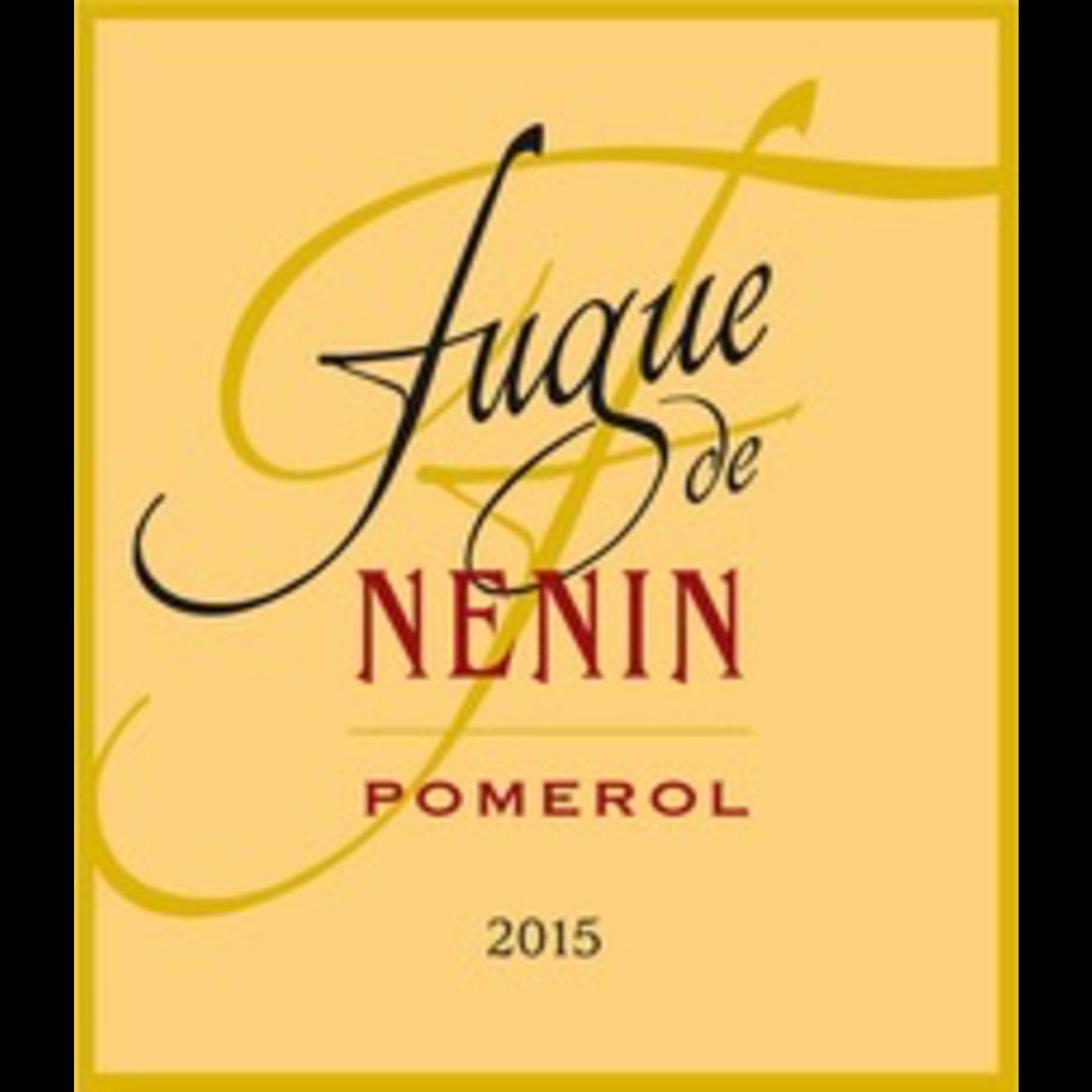 Wine Fugue de Nenin 2018