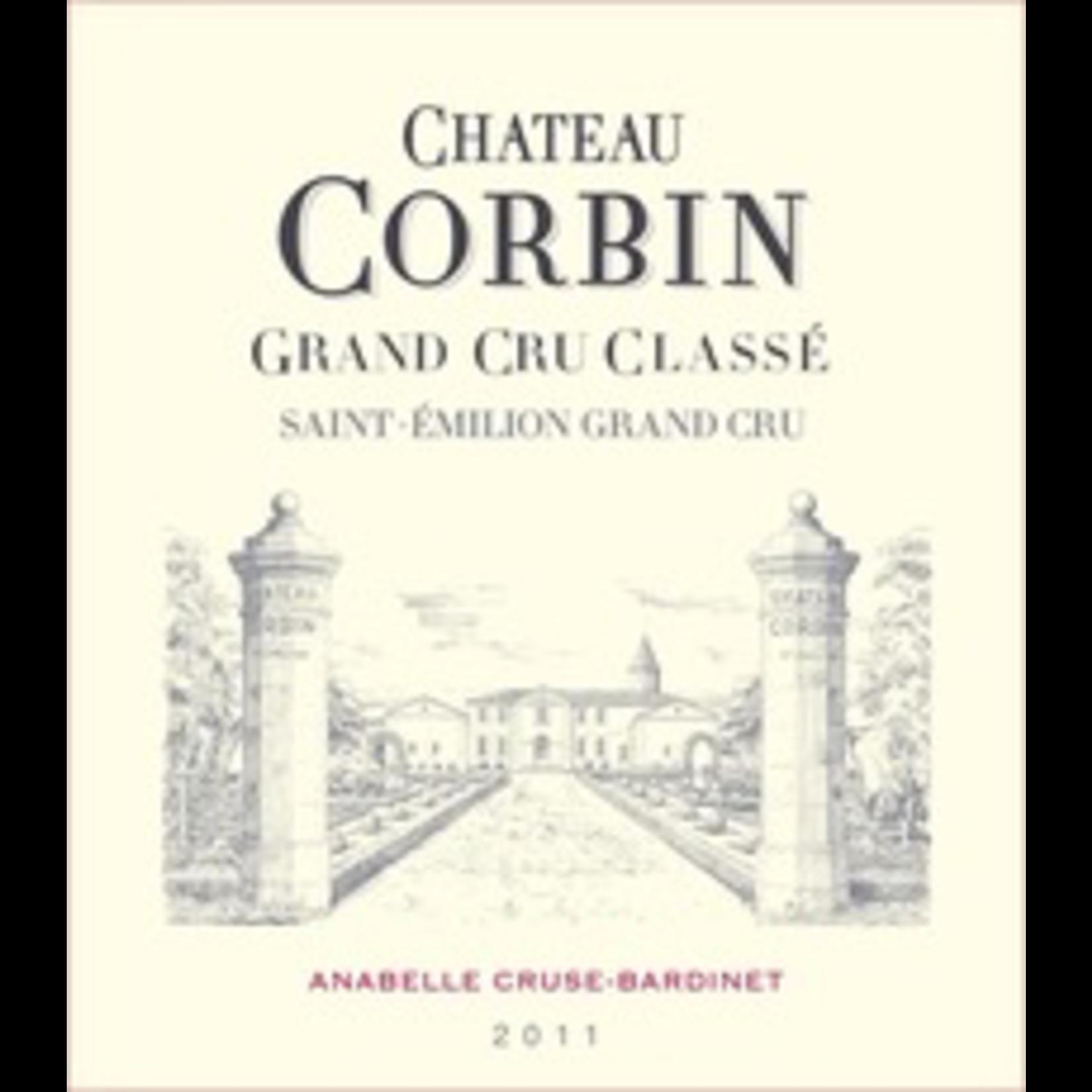 Wine Ch Corbin 2018