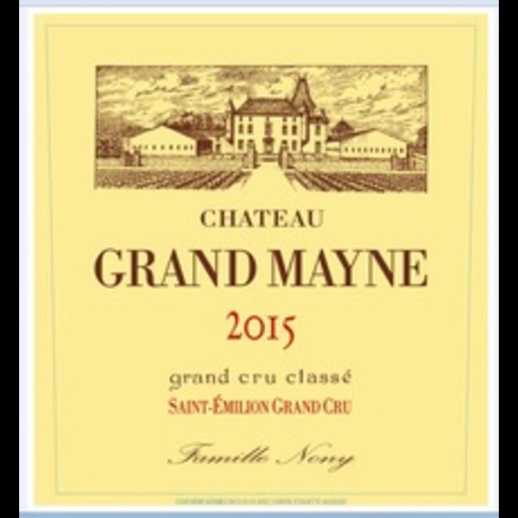 Wine Ch Grand Mayne 2018