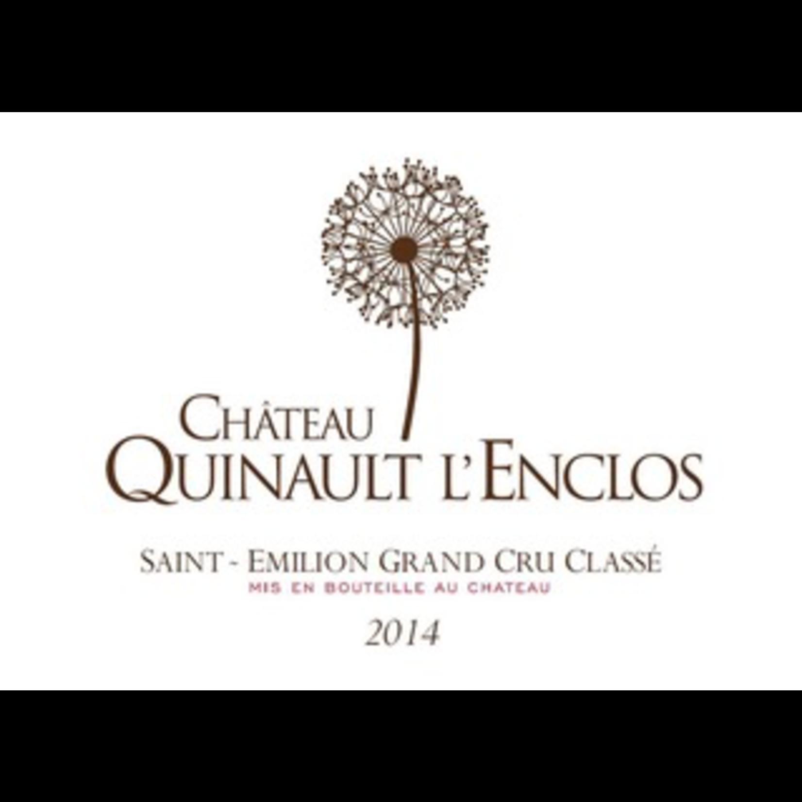 Wine Ch Quinault l'Enclos 2018