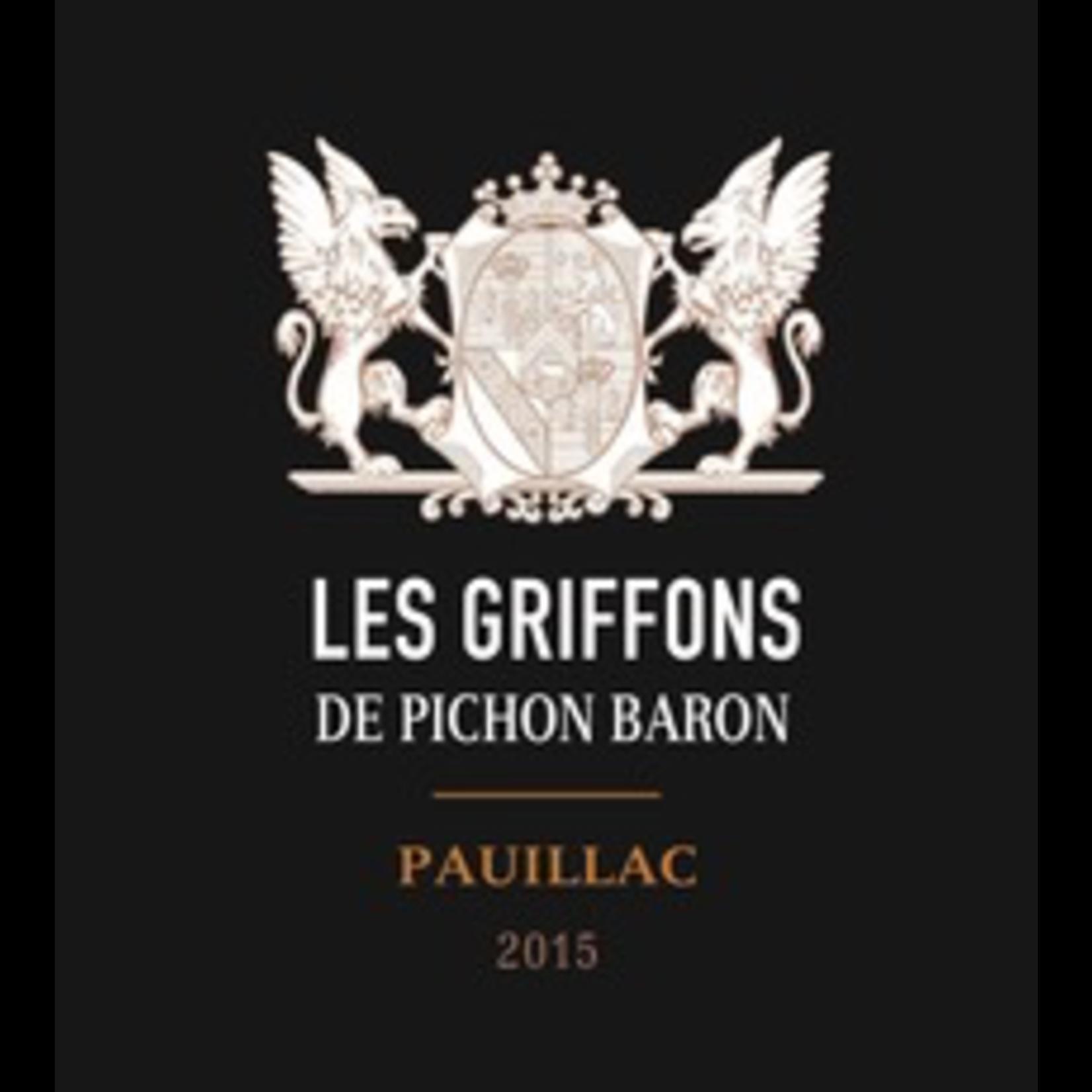 Chateau Pichon Baron Griffons de Pichon Baron 2015