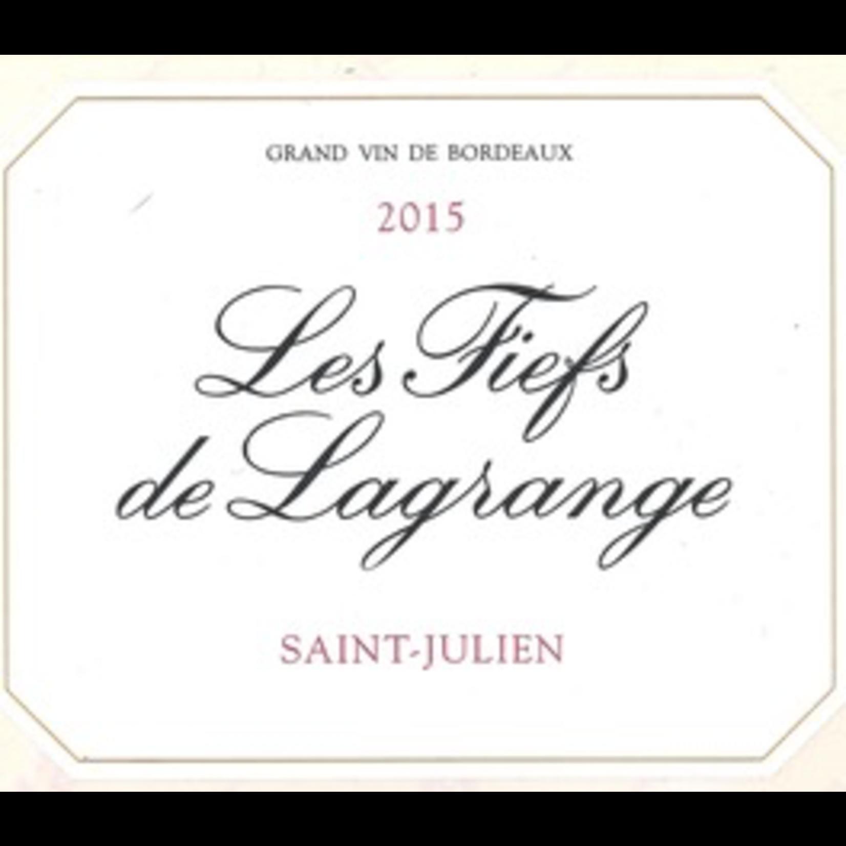 Wine Les Fiefs de Lagrange 2018