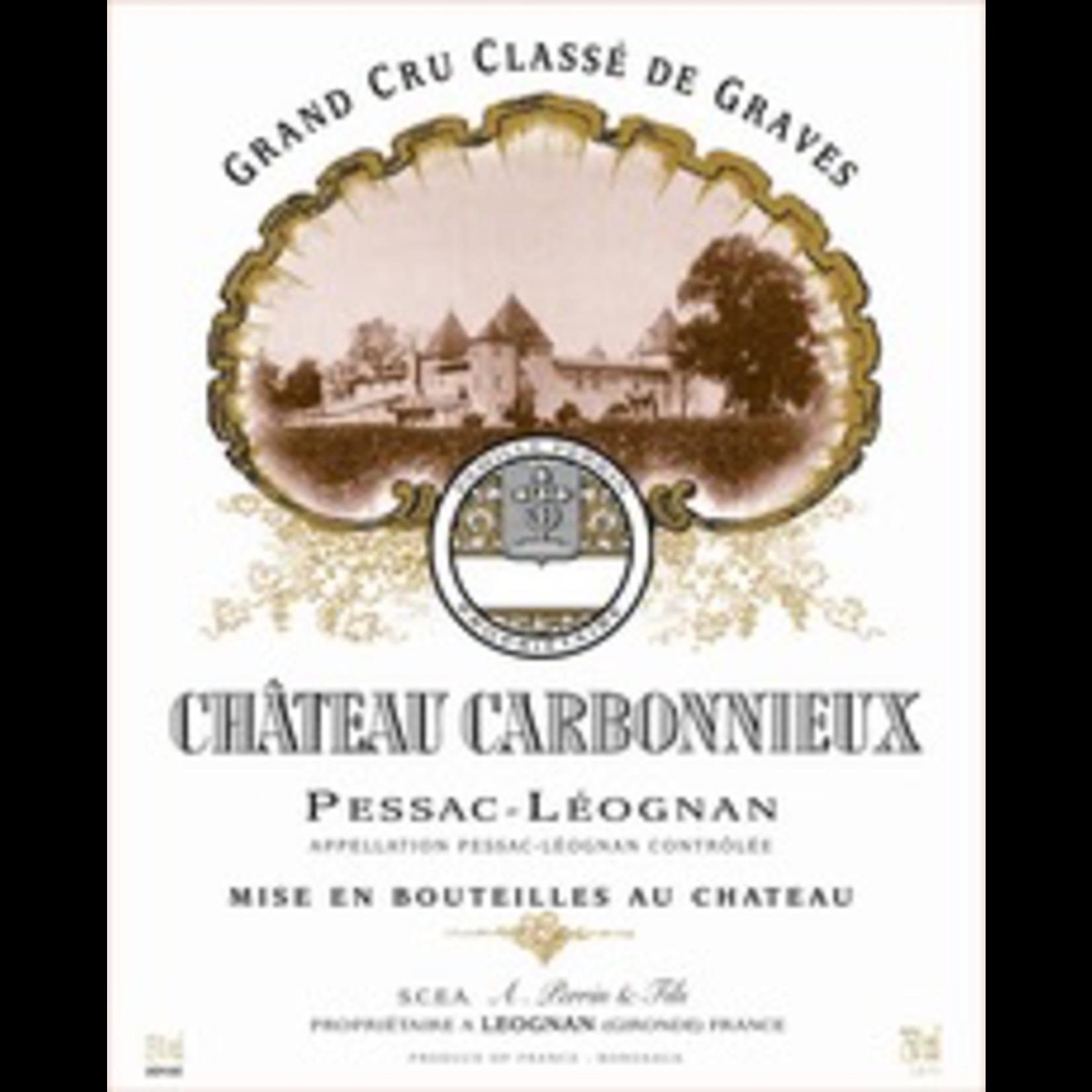 Wine Ch Carbonnieux 2018 375ml