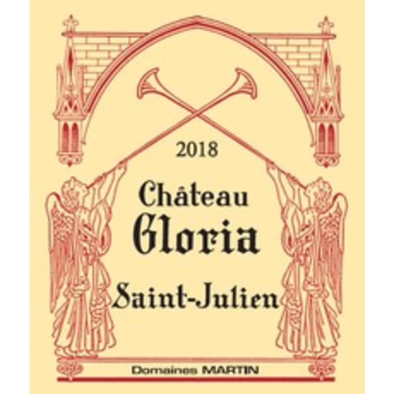 Wine Chateau Gloria 2018 375ML