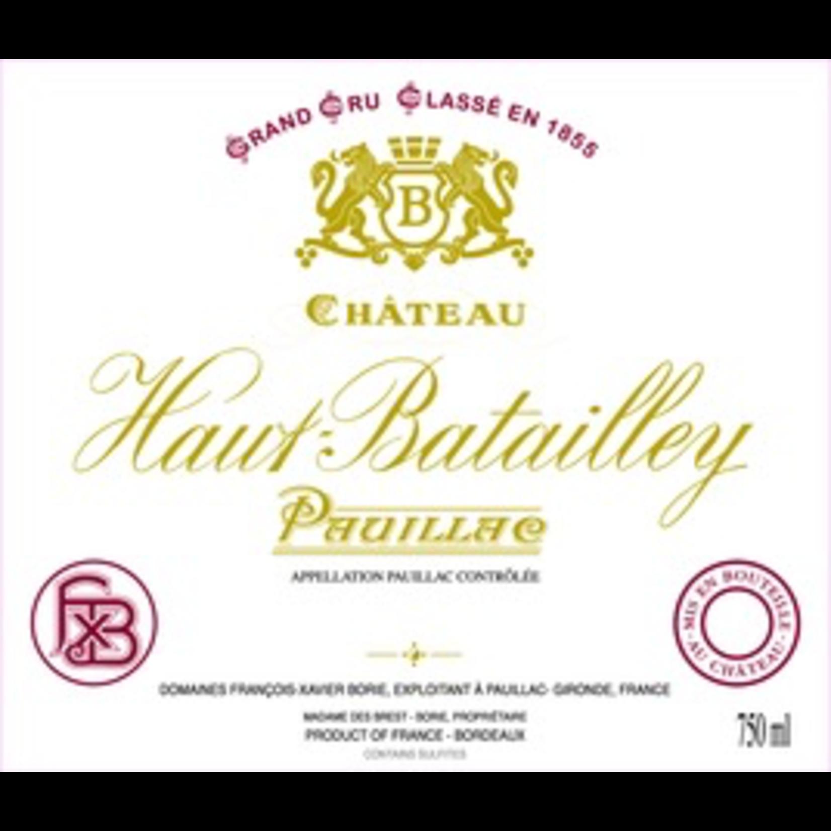 Wine Chateau Haut Batailley 2018